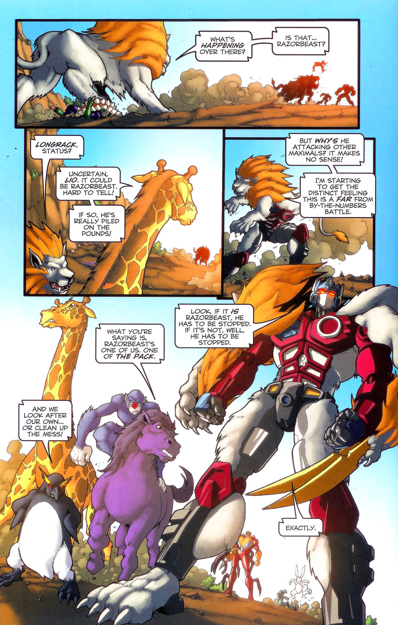Read online Transformers: Beast Wars: The Ascending comic -  Issue #3 - 9
