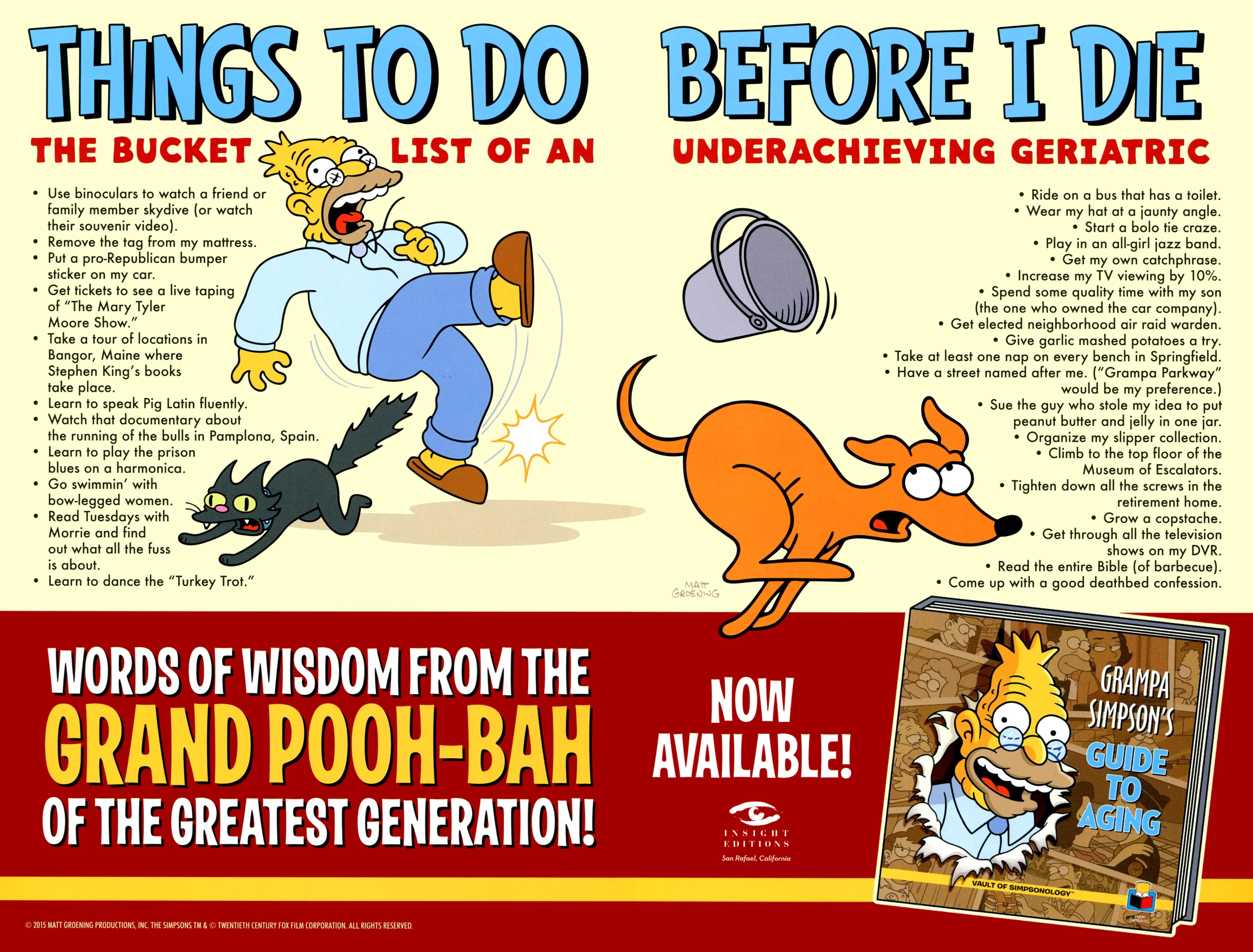 Read online Simpsons One-Shot Wonders: Grampa comic -  Issue # Full - 28