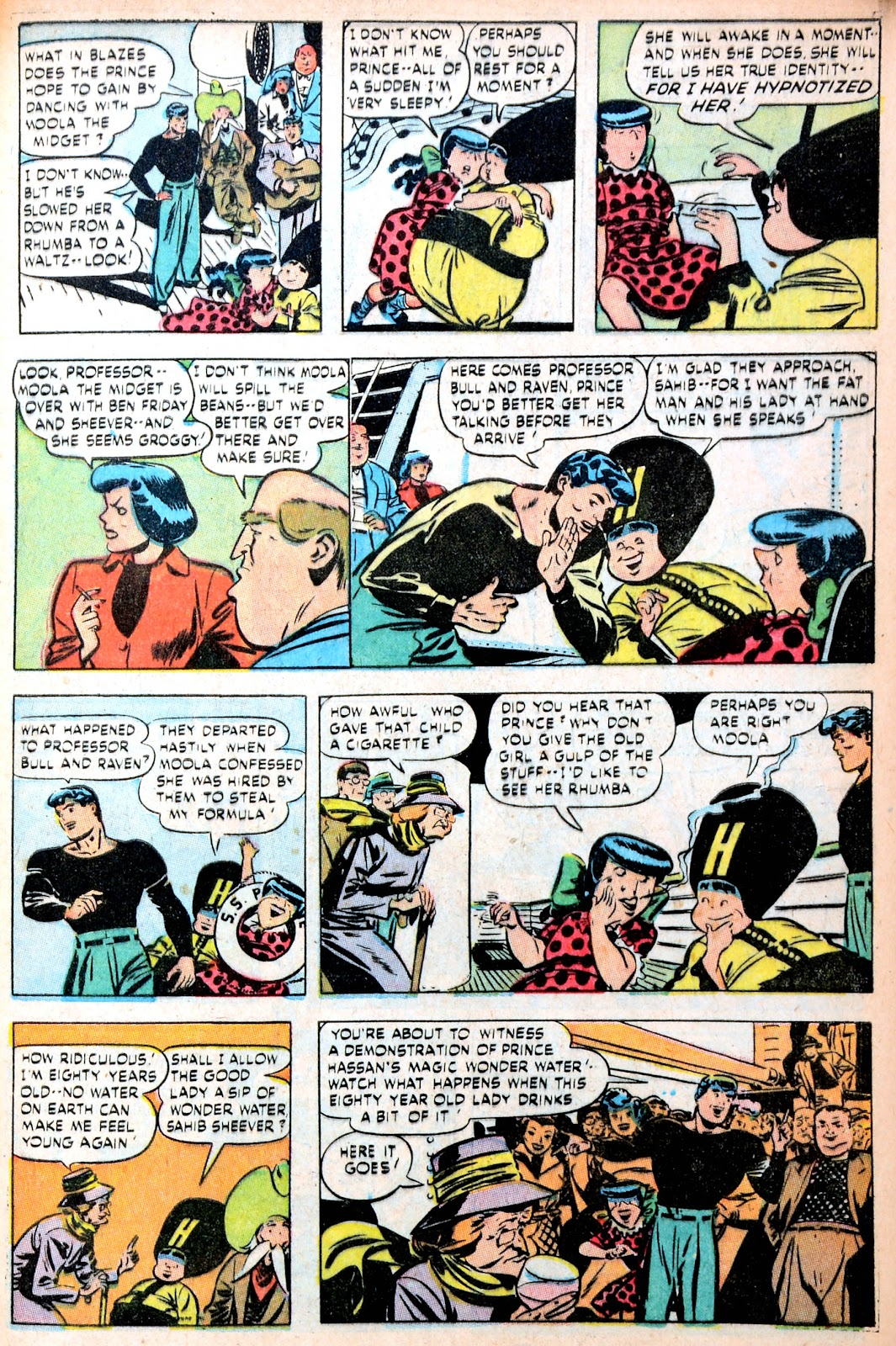 Read online Famous Funnies comic -  Issue #195 - 47
