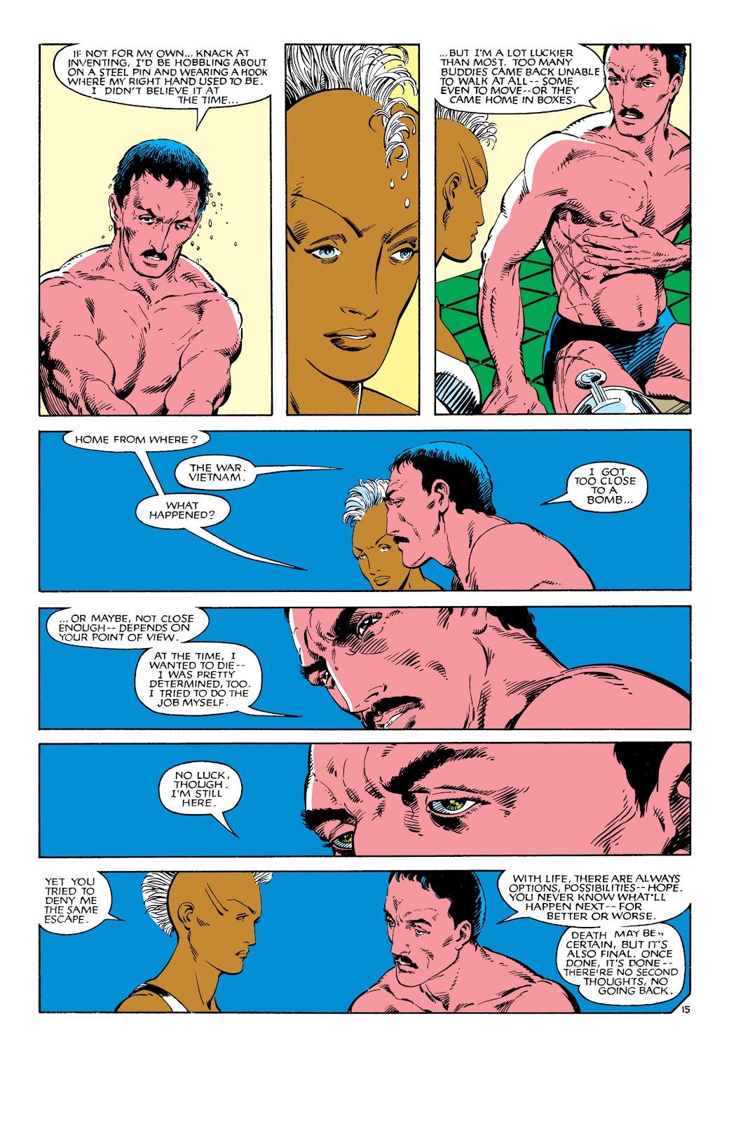 Uncanny X-Men (1963) issue 186 - Page 16