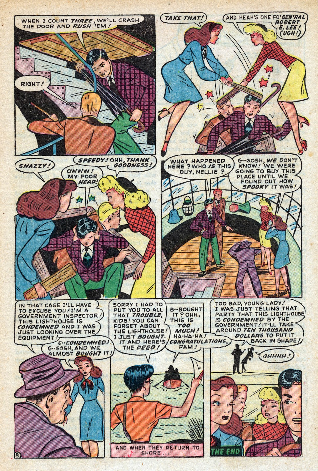 Read online Nellie The Nurse (1945) comic -  Issue #17 - 17