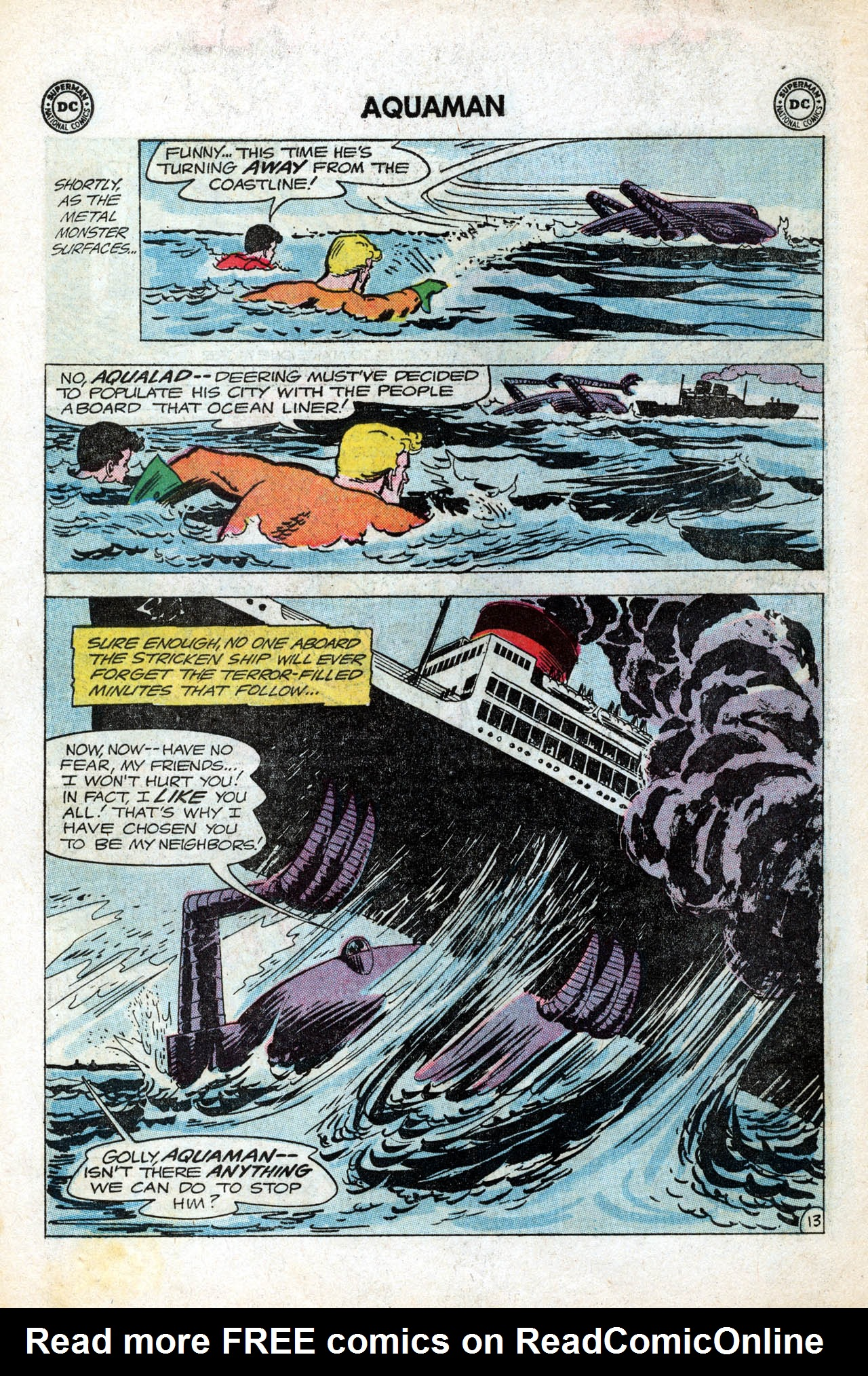 Read online Aquaman (1962) comic -  Issue #15 - 18