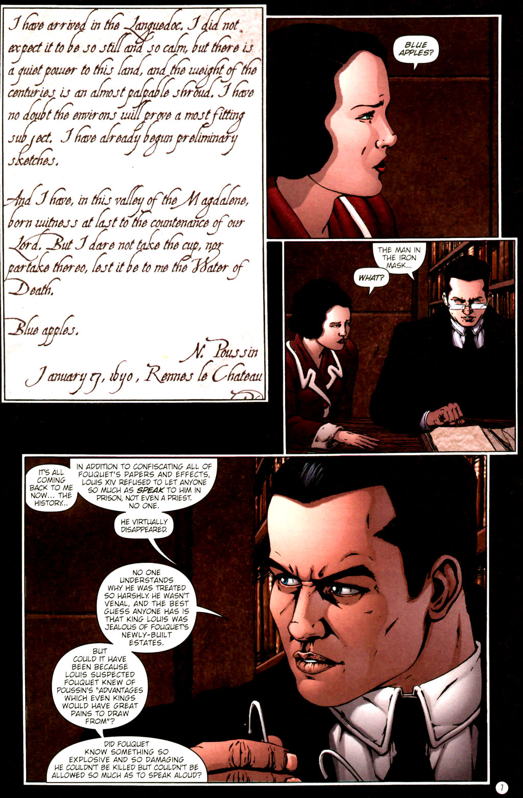Read online Rex Mundi comic -  Issue #9 - 11