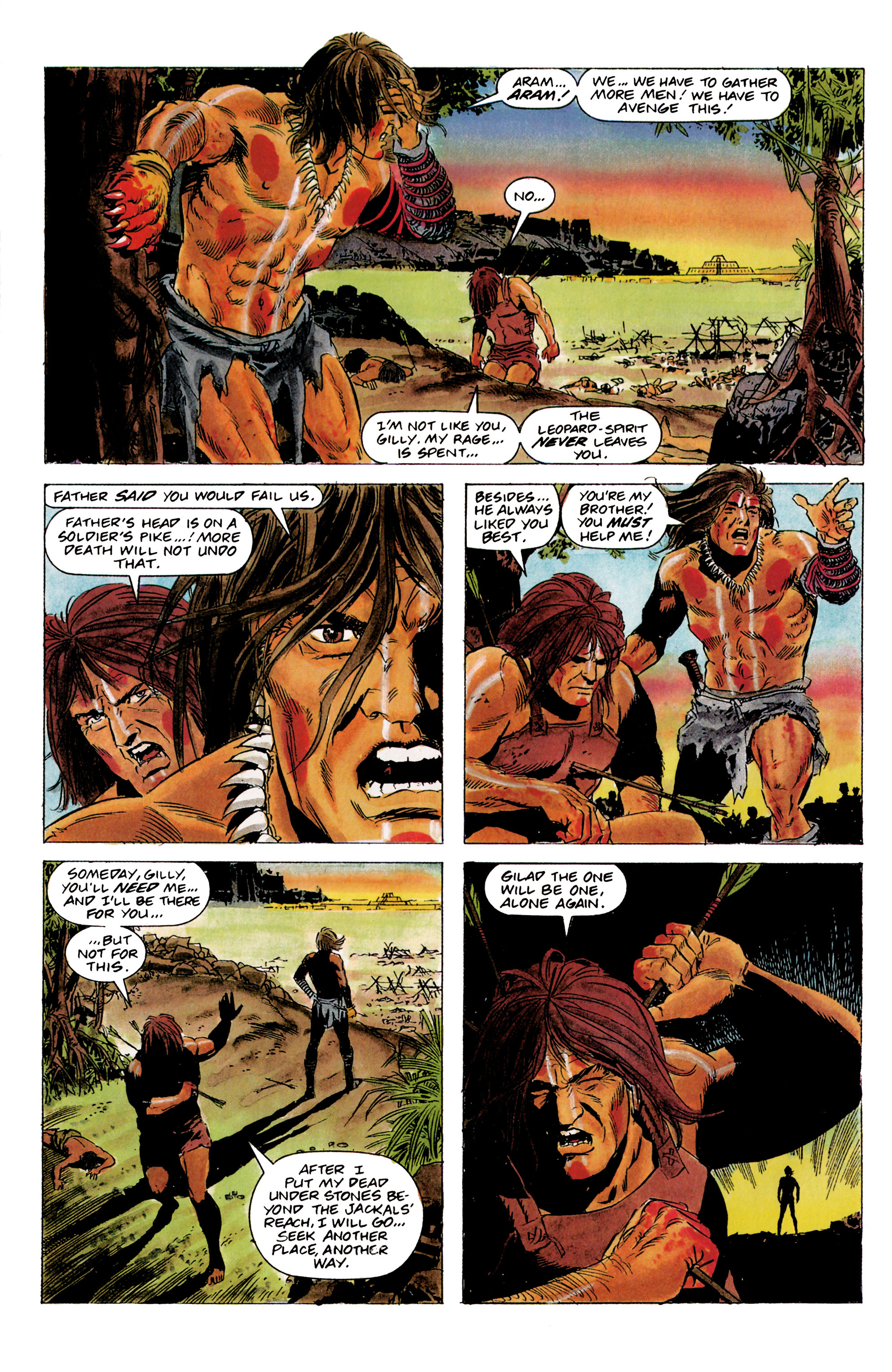 Read online Eternal Warrior (1992) comic -  Issue #1 - 15