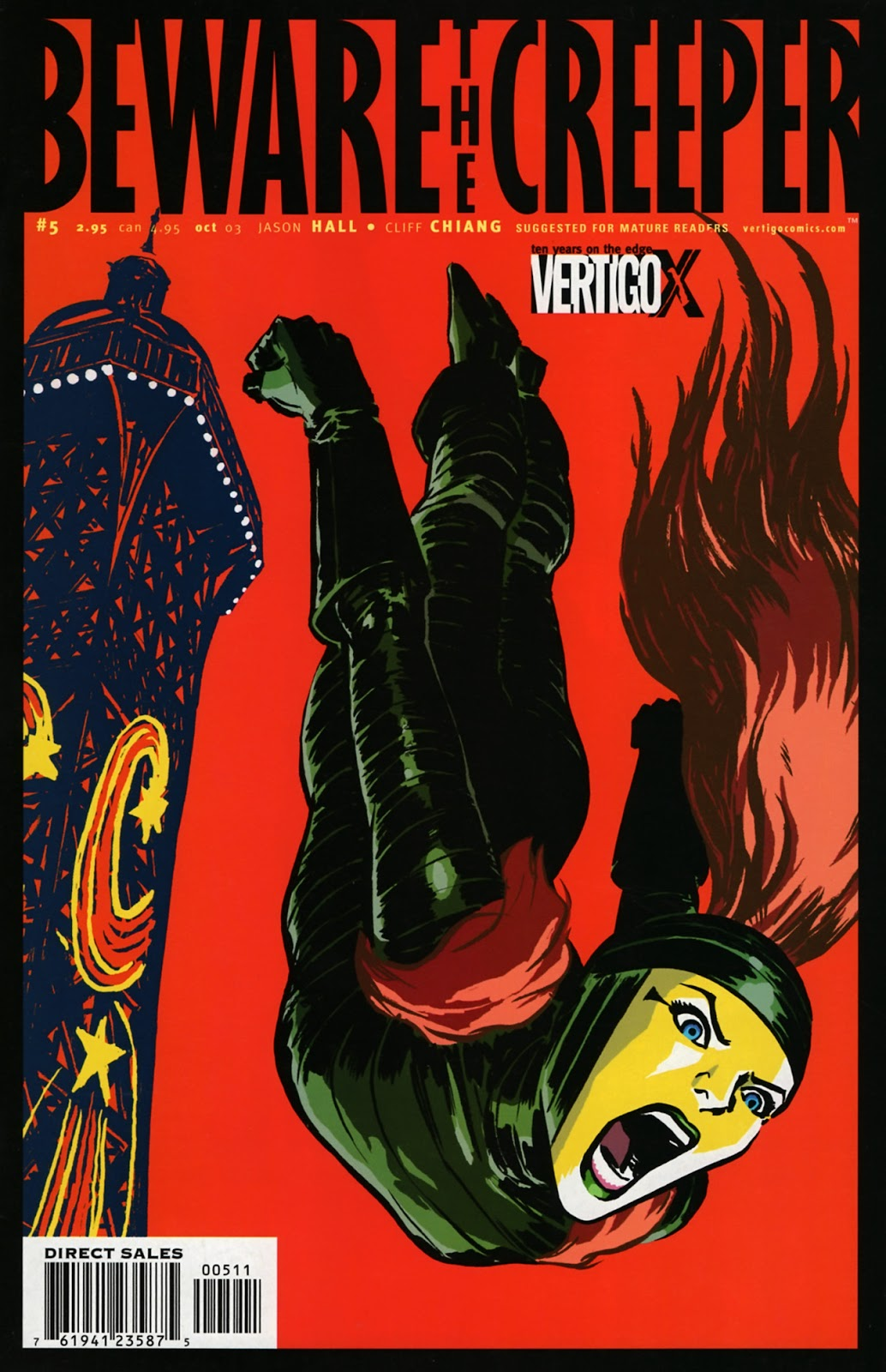 Read online Beware The Creeper (2003) comic -  Issue #5 - 1