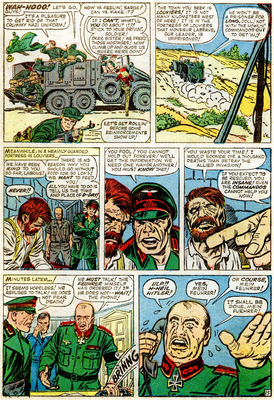 Read online Sgt. Fury comic -  Issue #1 - 22