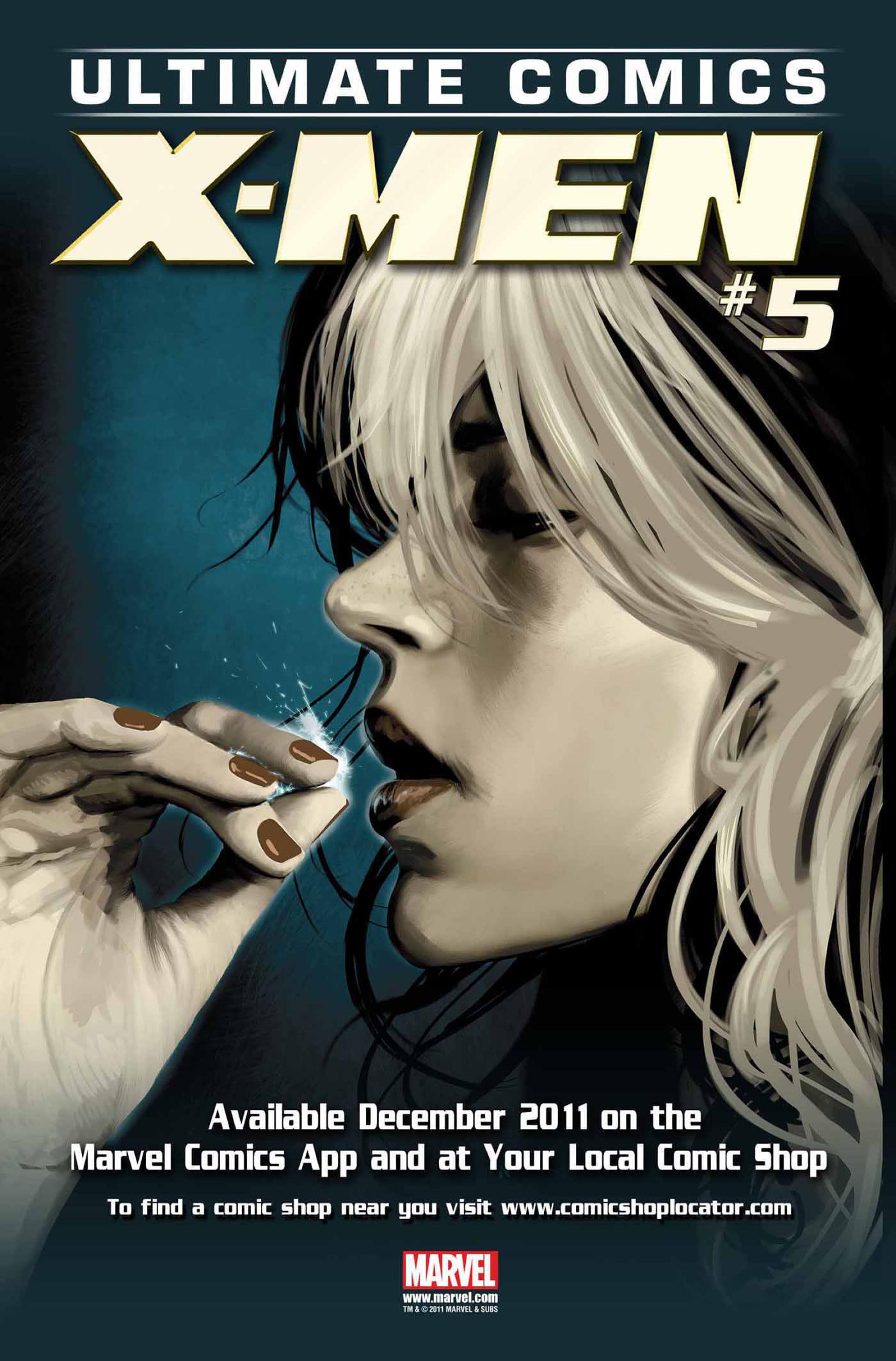Read online Ultimate Comics X-Men comic -  Issue #4 - 23