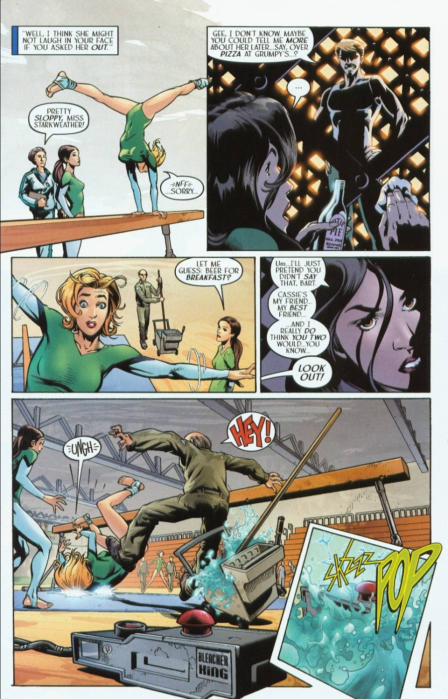 Read online Route 666 comic -  Issue #1 - 7