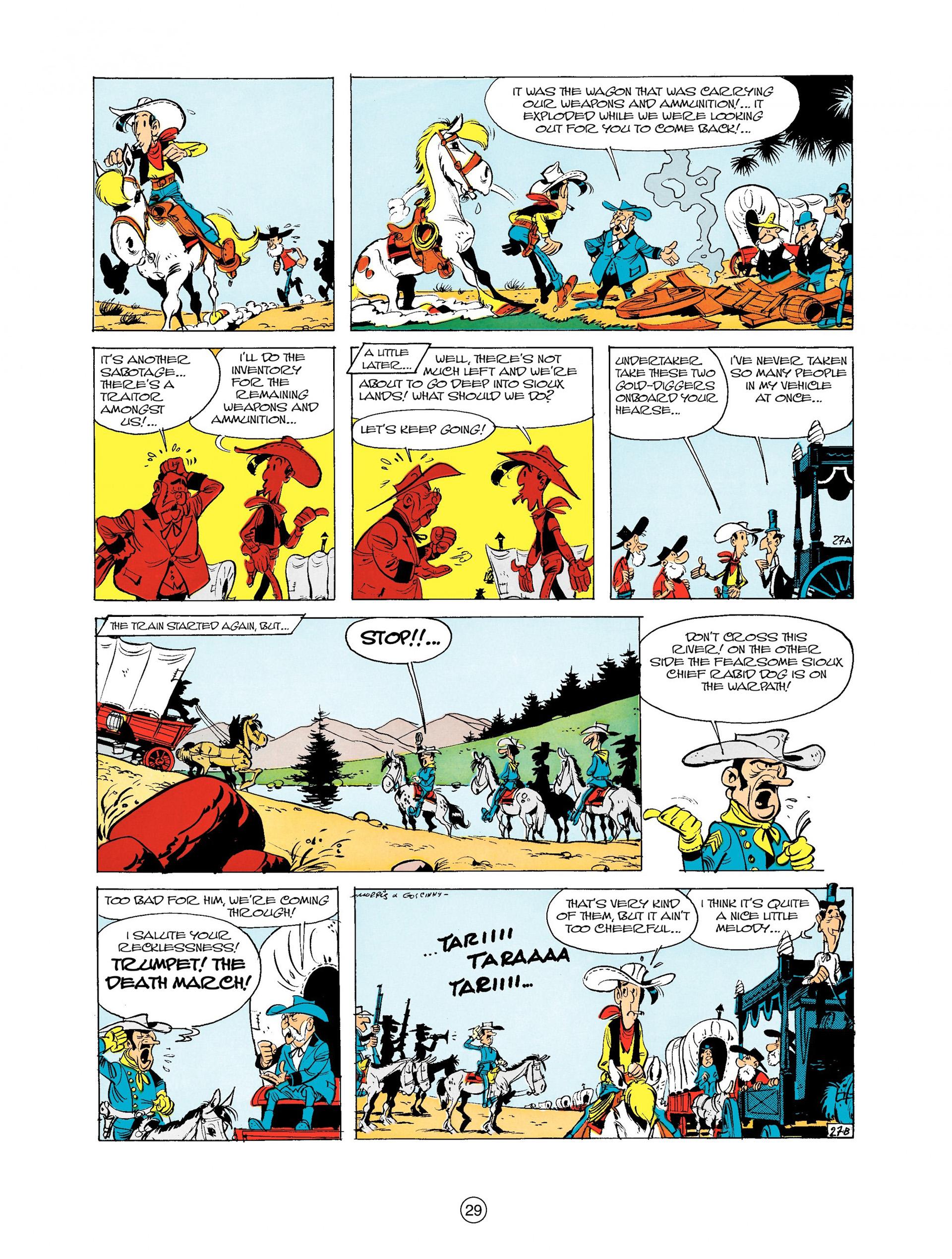 Read online A Lucky Luke Adventure comic -  Issue #9 - 29