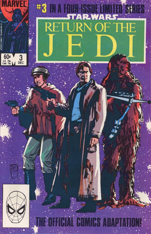 Read online Star Wars: Return of the Jedi comic -  Issue #3 - 1