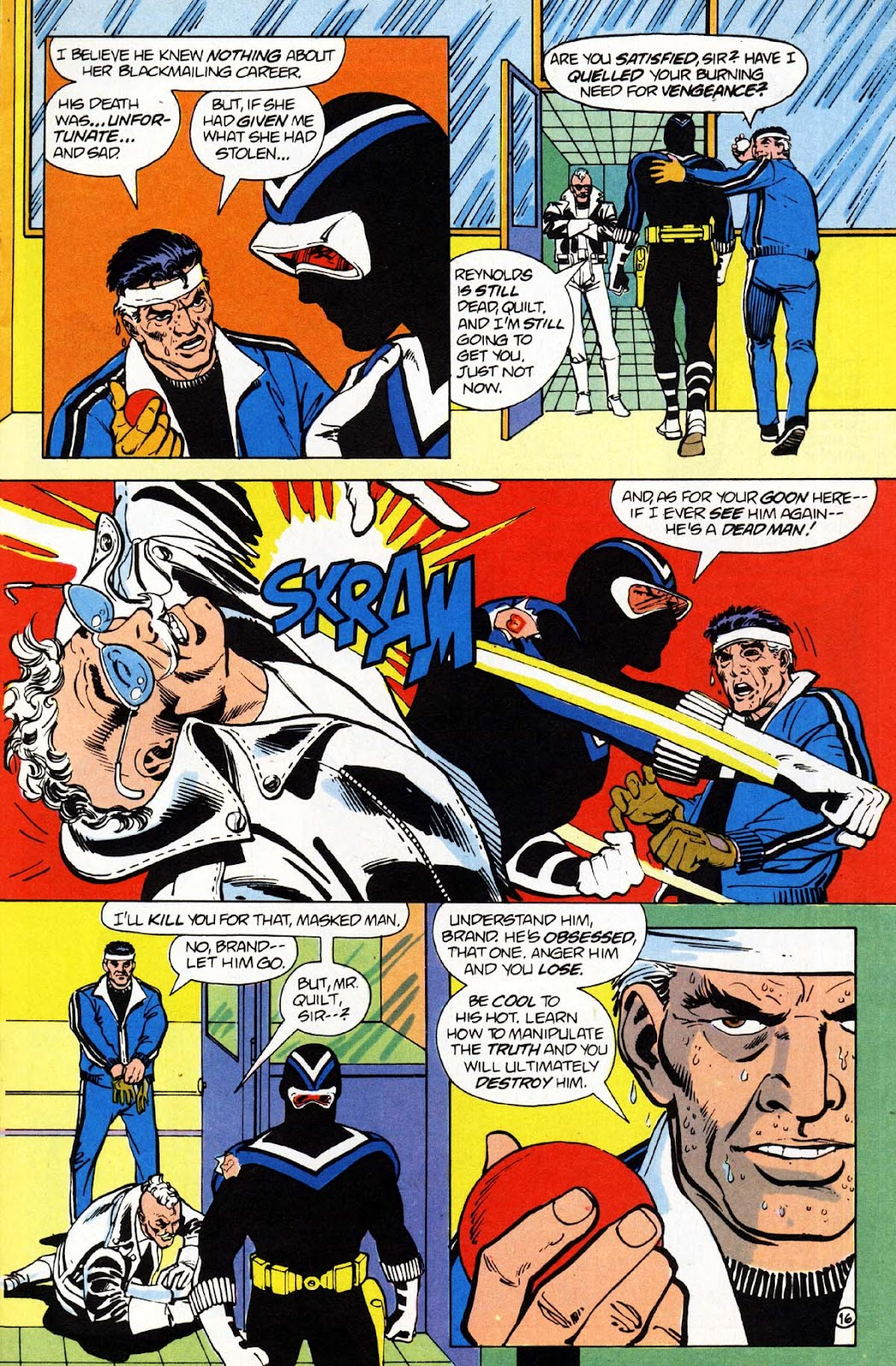 Vigilante (1983) issue 1 - Page 17