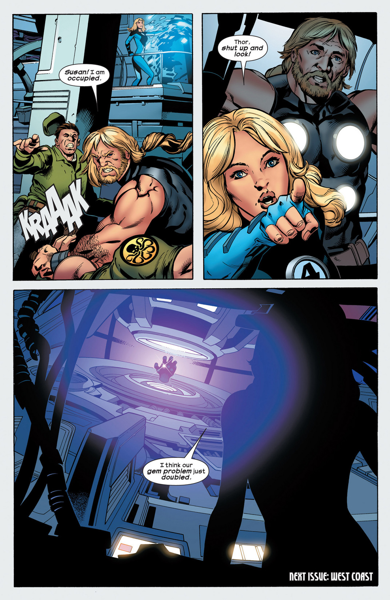 Read online Ultimate Comics Ultimates comic -  Issue #21 - 22