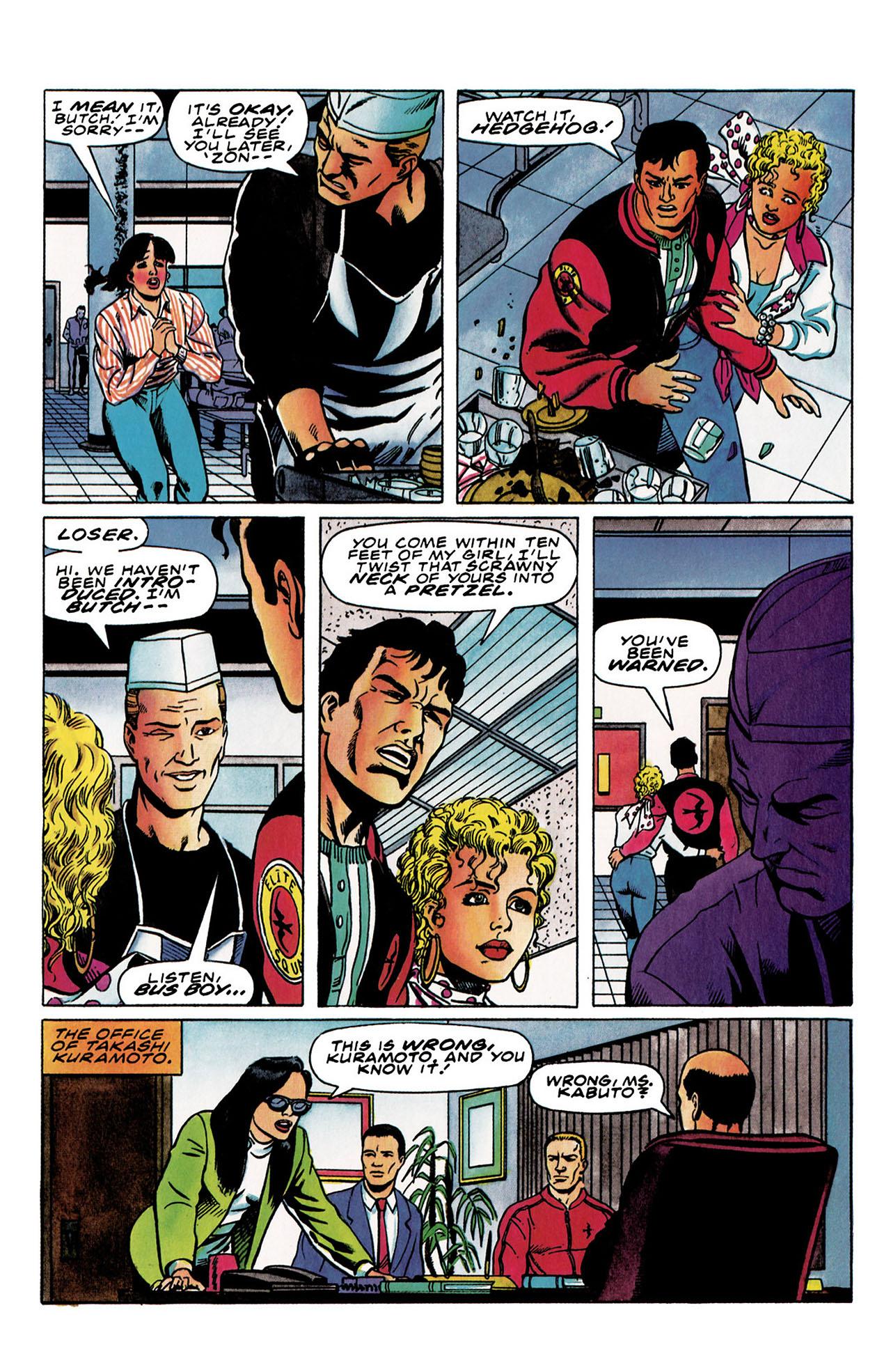 Read online Harbinger (1992) comic -  Issue #30 - 7