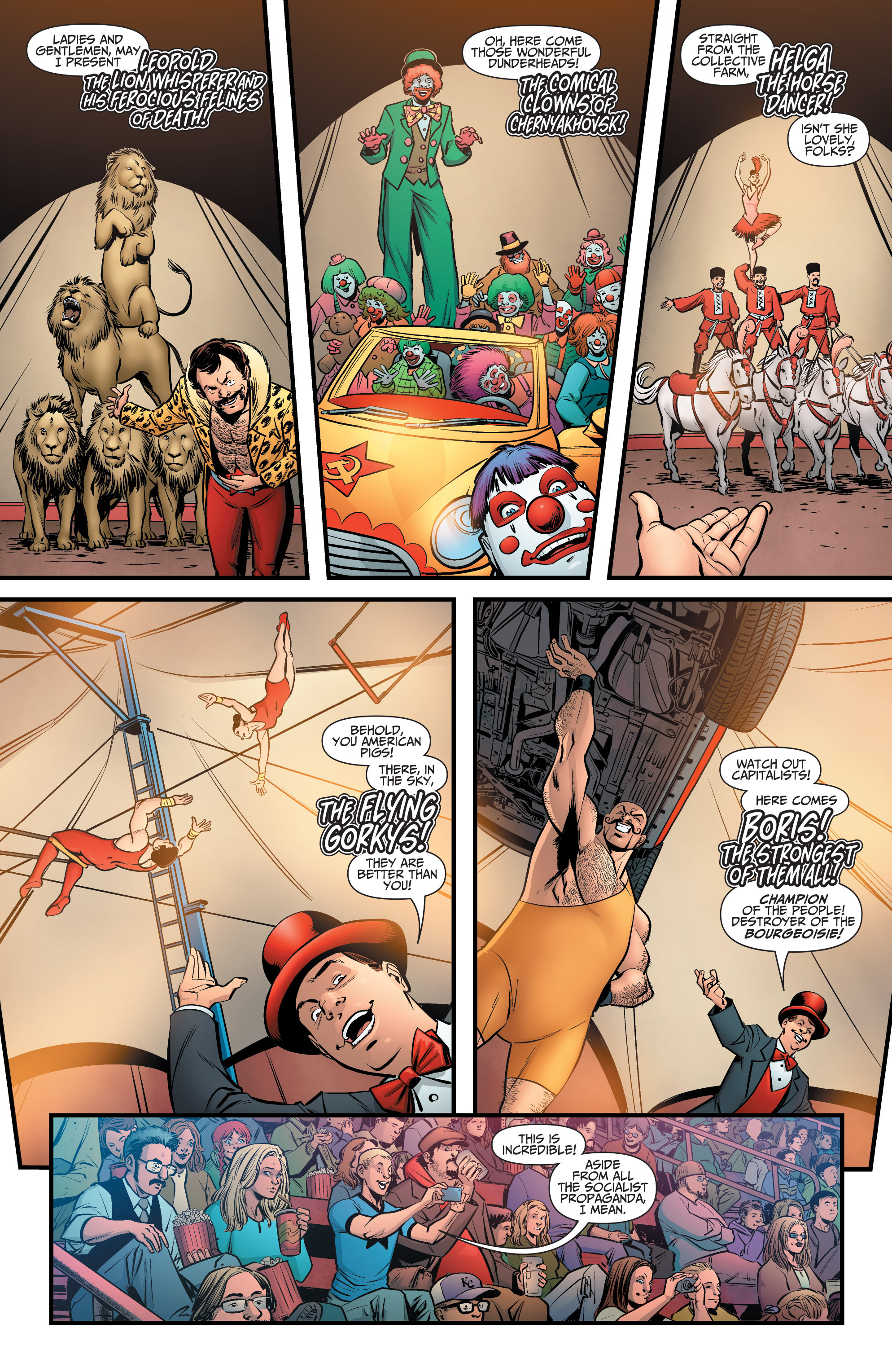 Read online A&A: The Adventures of Archer & Armstrong comic -  Issue #6 - 15