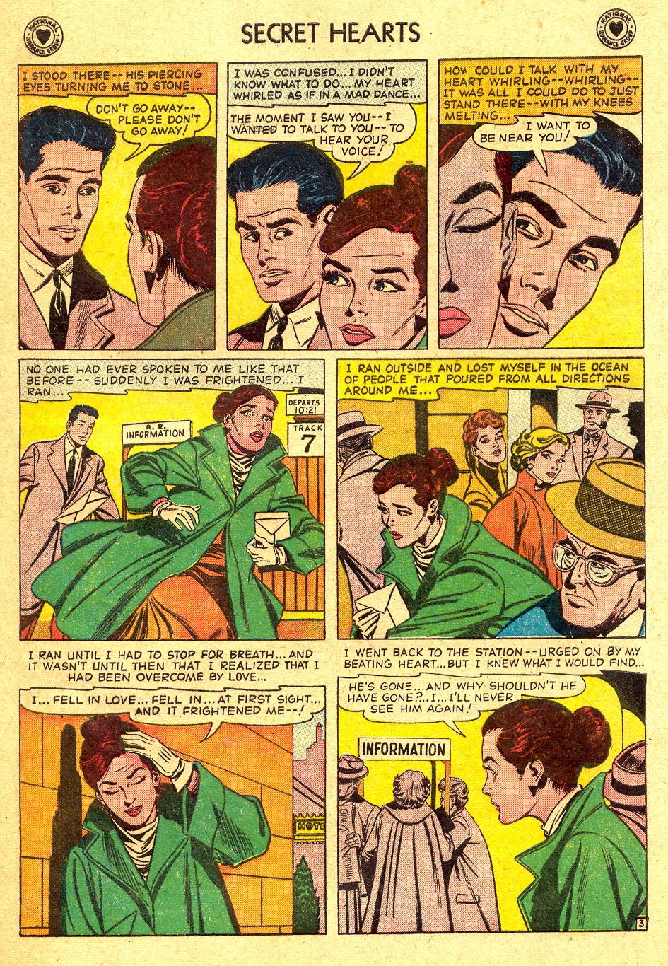 Read online Secret Hearts comic -  Issue #45 - 29