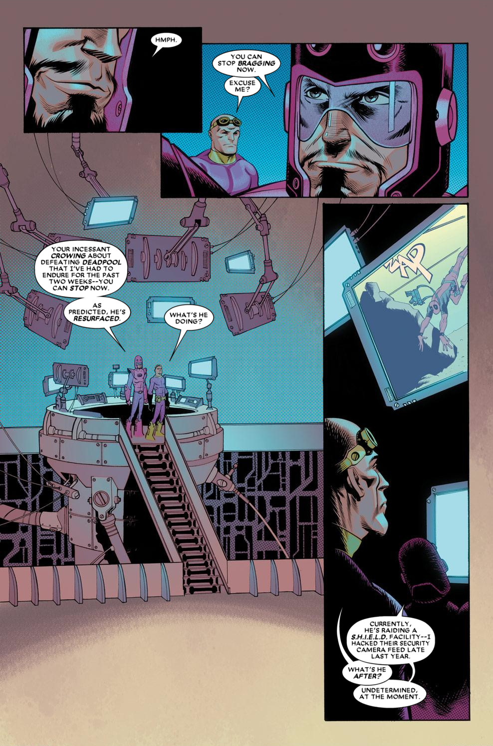 Read online Deadpool (2008) comic -  Issue #56 - 13
