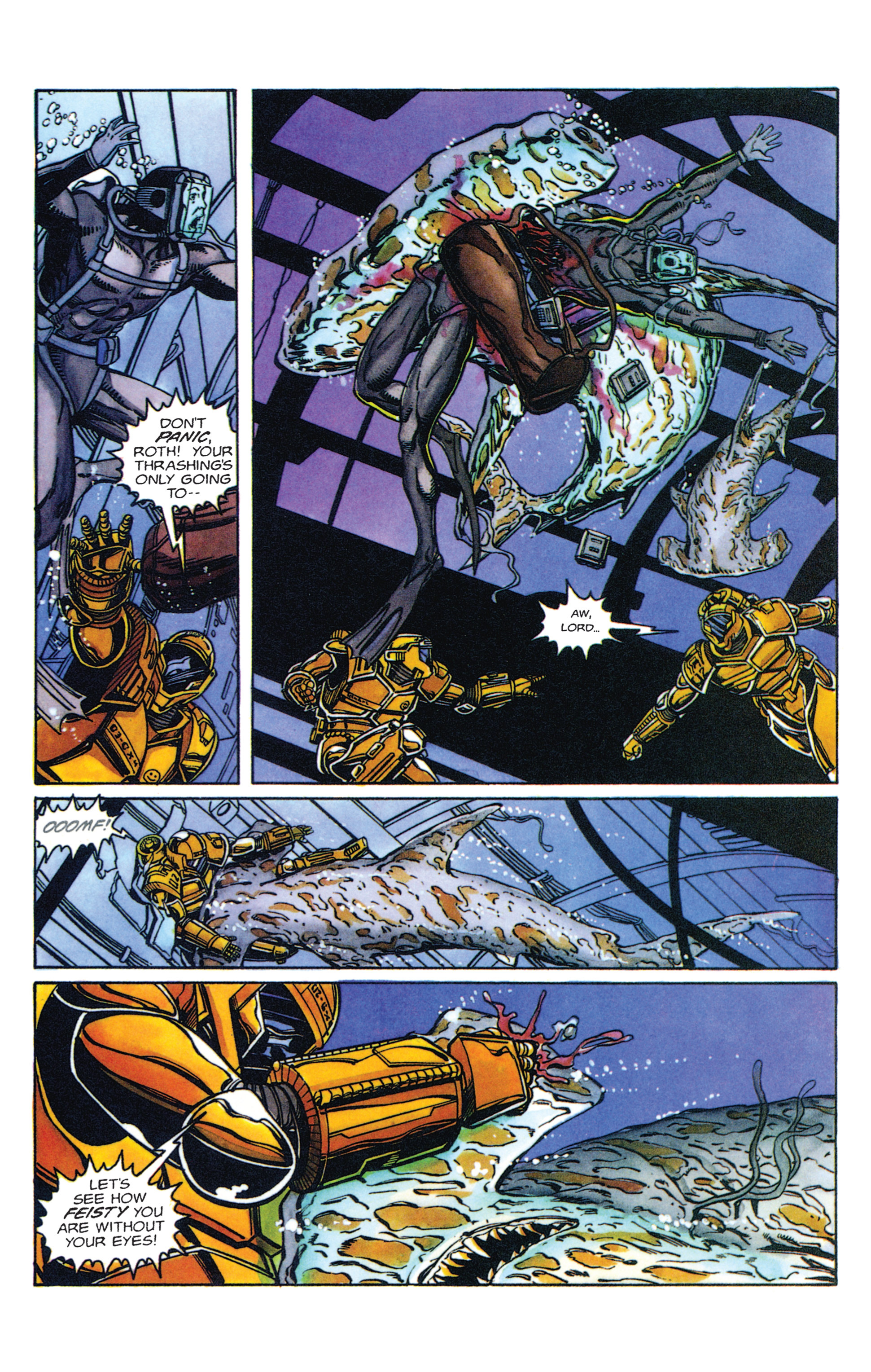 Read online Armorines comic -  Issue #2 - 11