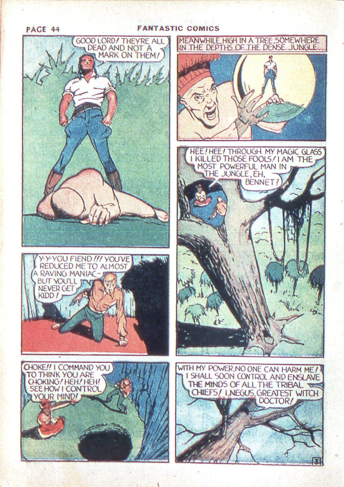 Read online Fantastic Comics comic -  Issue #3 - 46