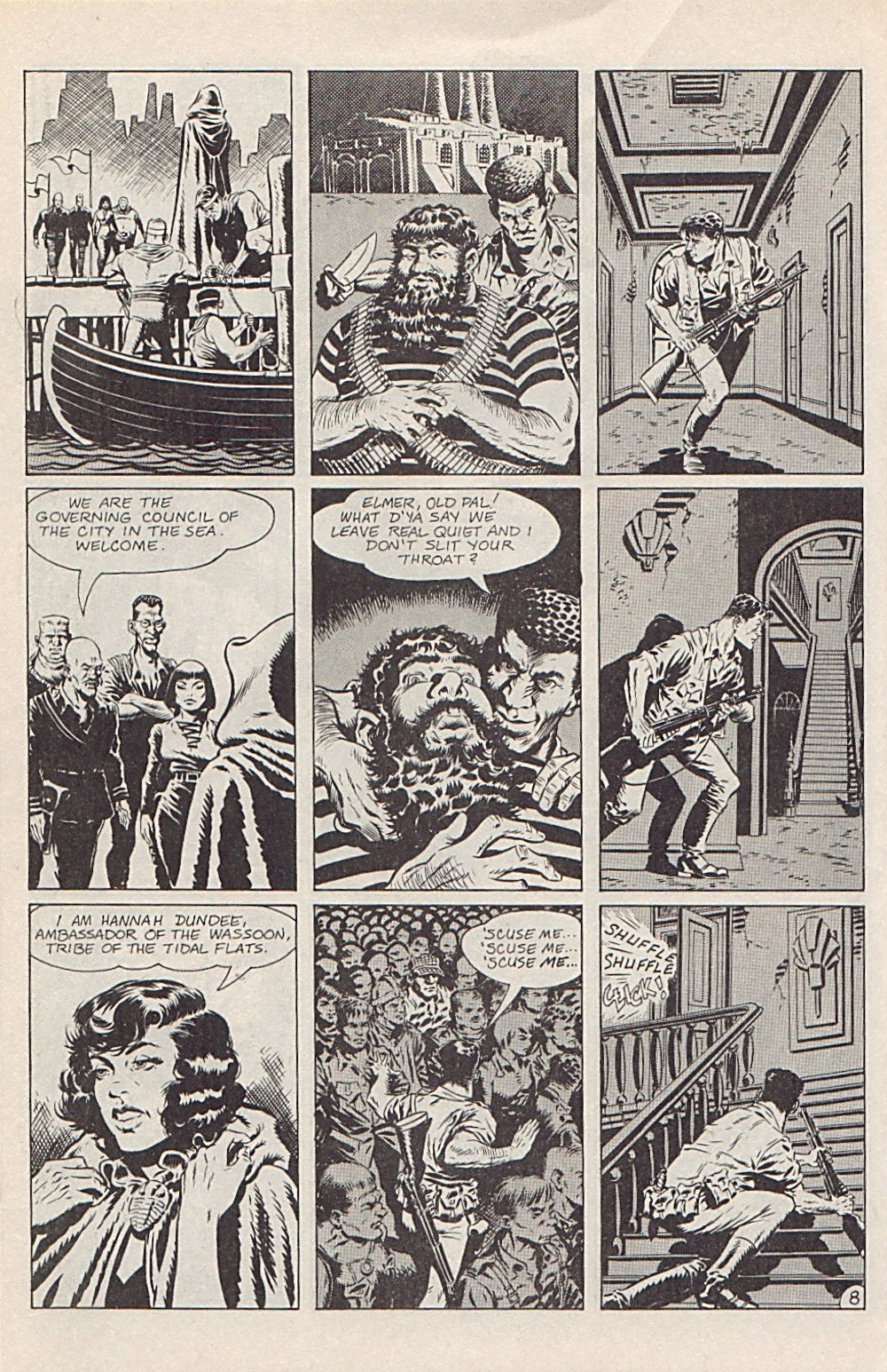 Read online Xenozoic Tales comic -  Issue #1 - 11