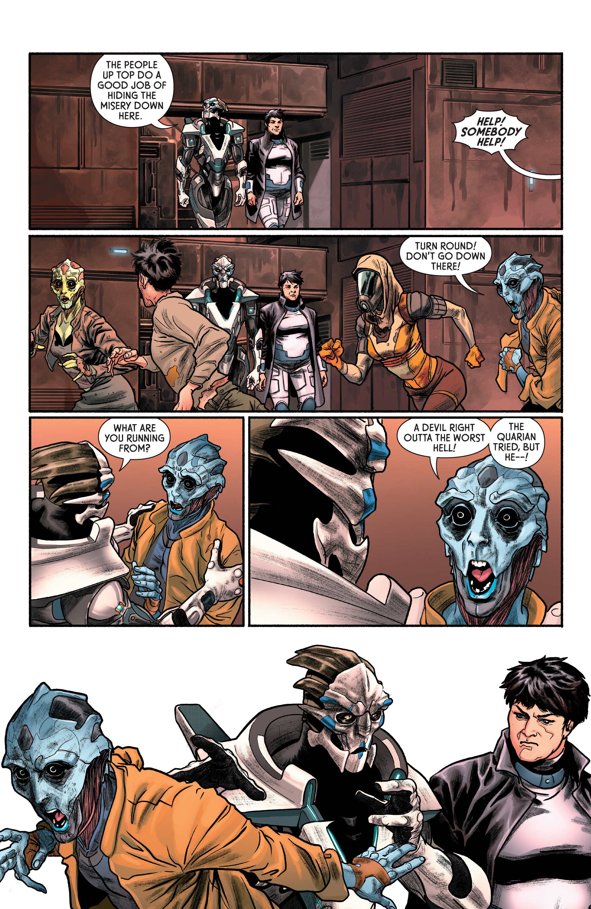 Read online Mass Effect: Discovery comic -  Issue #1 - 24