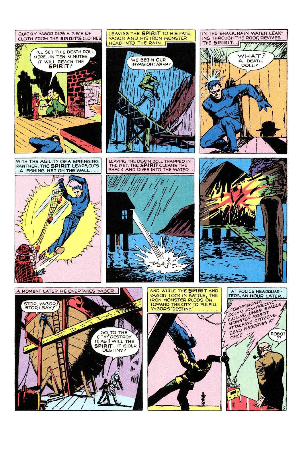 Read online Will Eisner's The Spirit Archives comic -  Issue # TPB 1 (Part 1) - 69