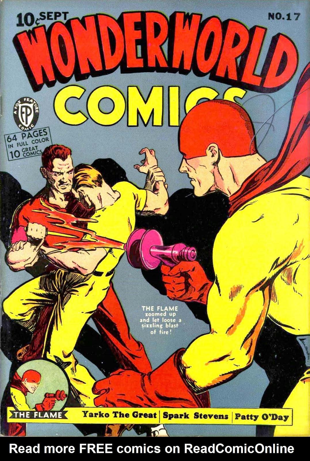 Wonderworld Comics issue 17 - Page 1