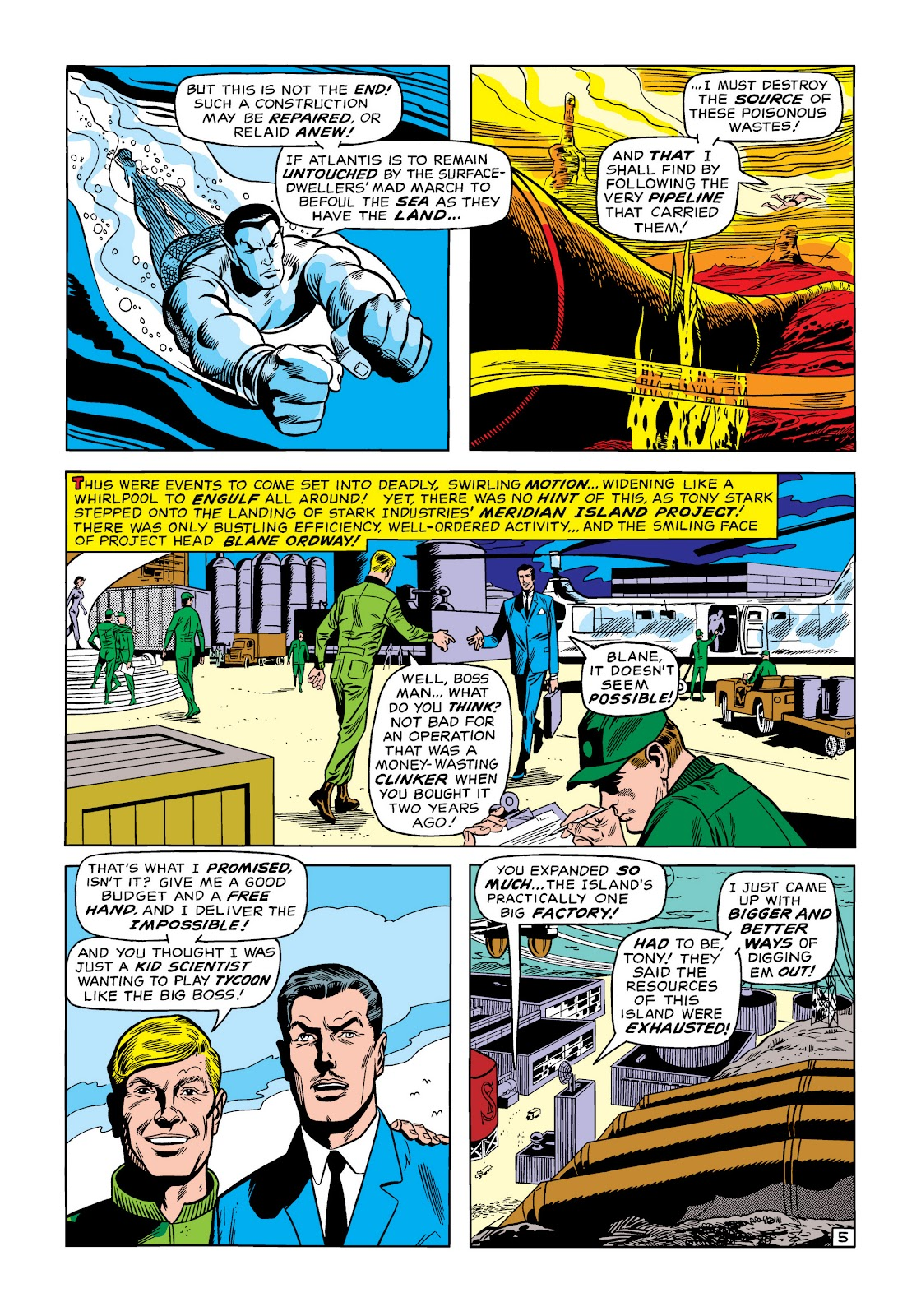 Read online Marvel Masterworks: The Invincible Iron Man comic -  Issue # TPB 6 (Part 3) - 21