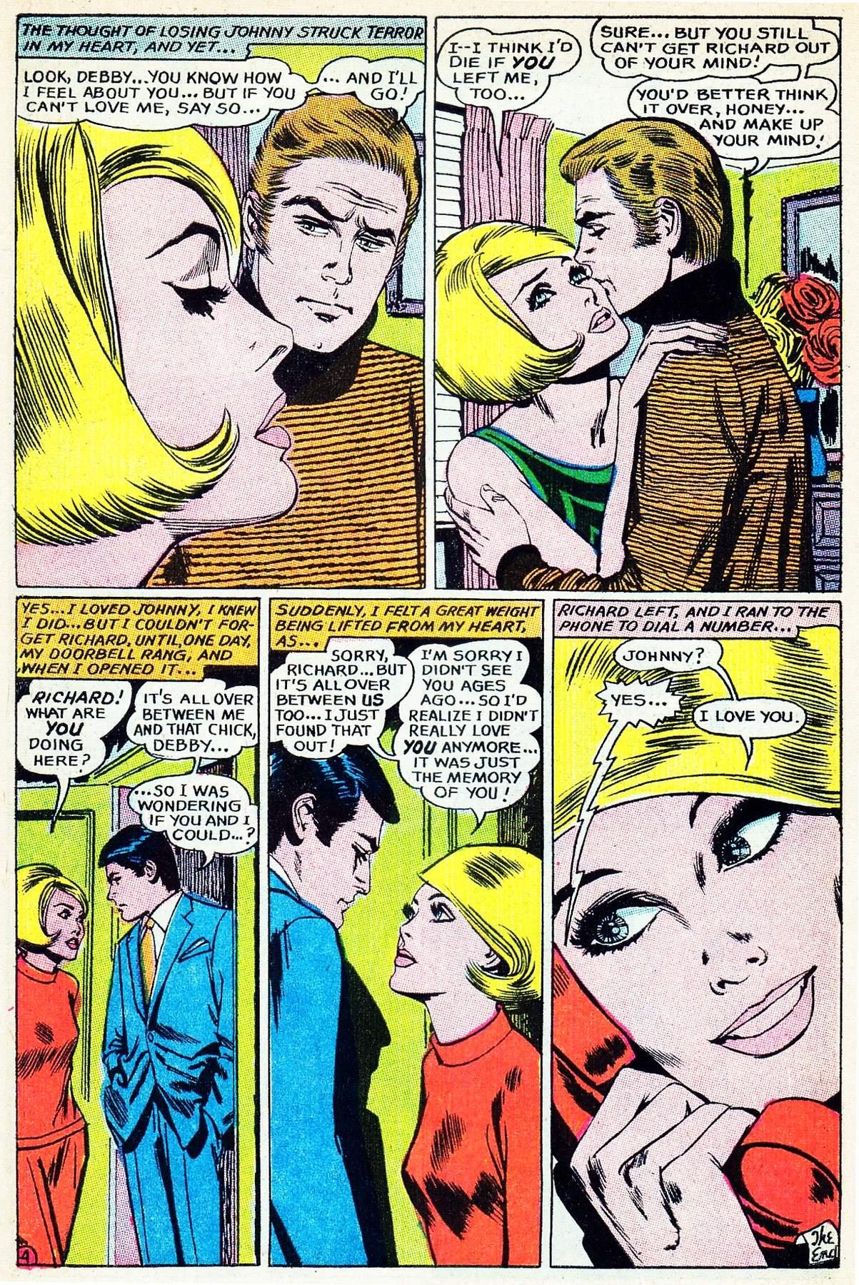 Read online Secret Hearts comic -  Issue #133 - 6