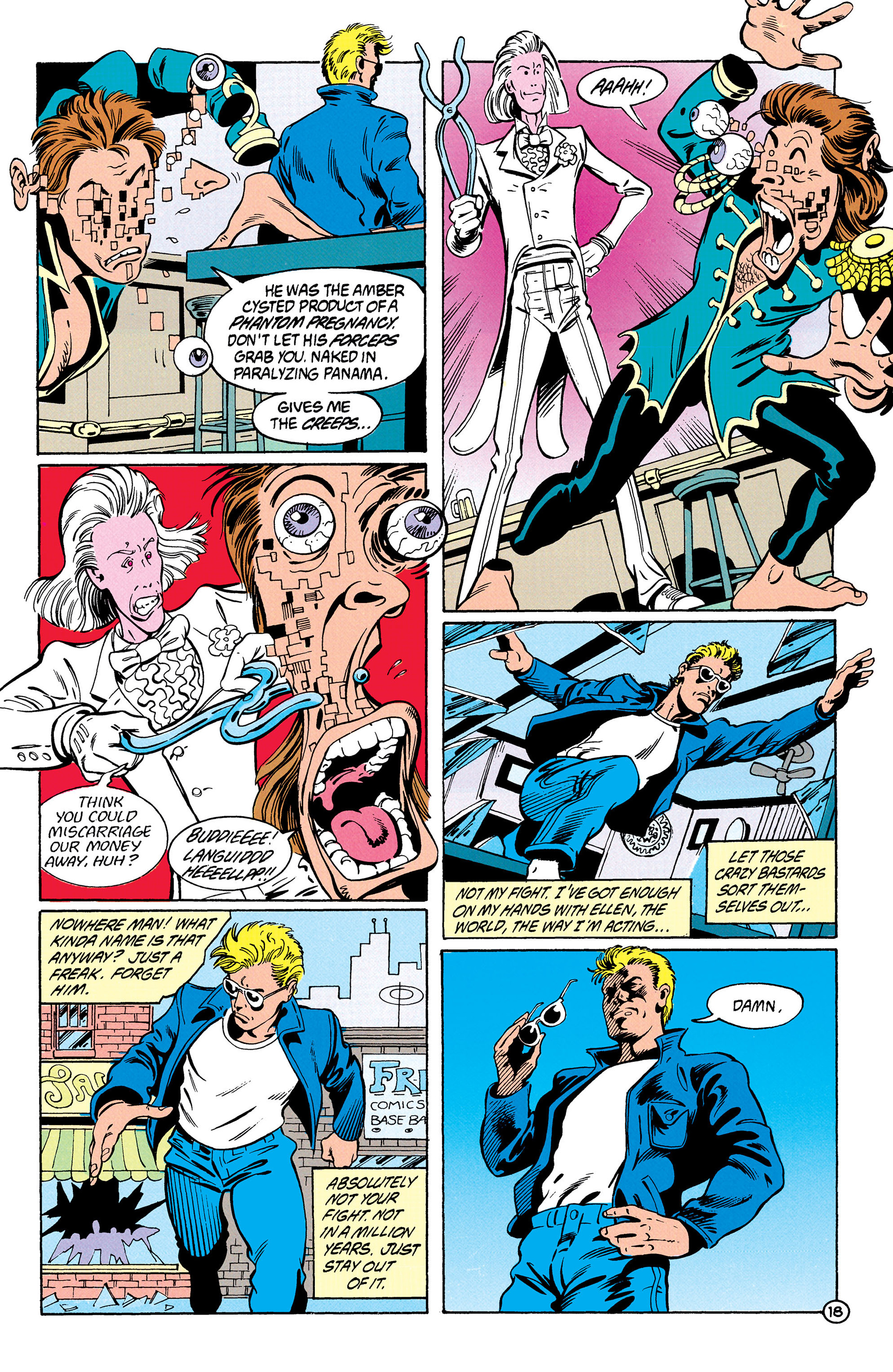 Read online Animal Man (1988) comic -  Issue #28 - 19