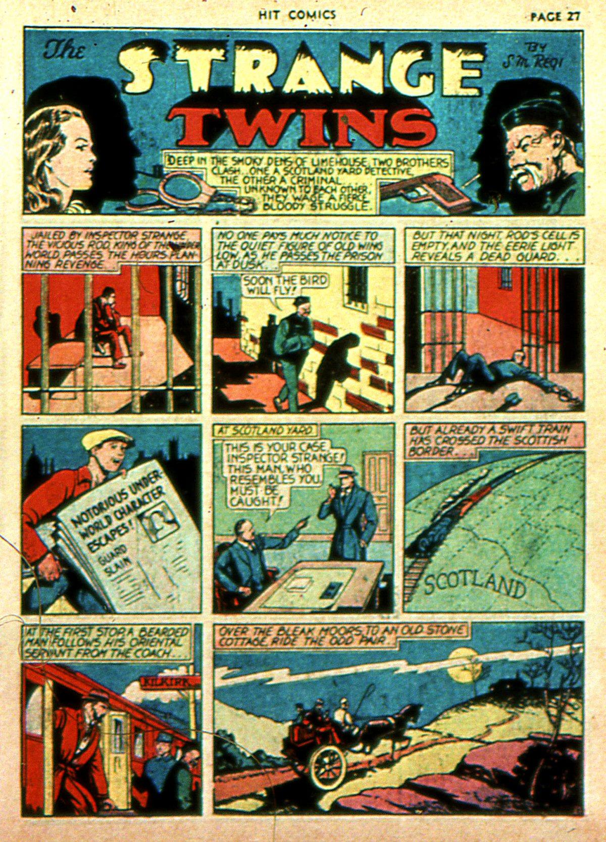 Read online Hit Comics comic -  Issue #2 - 29