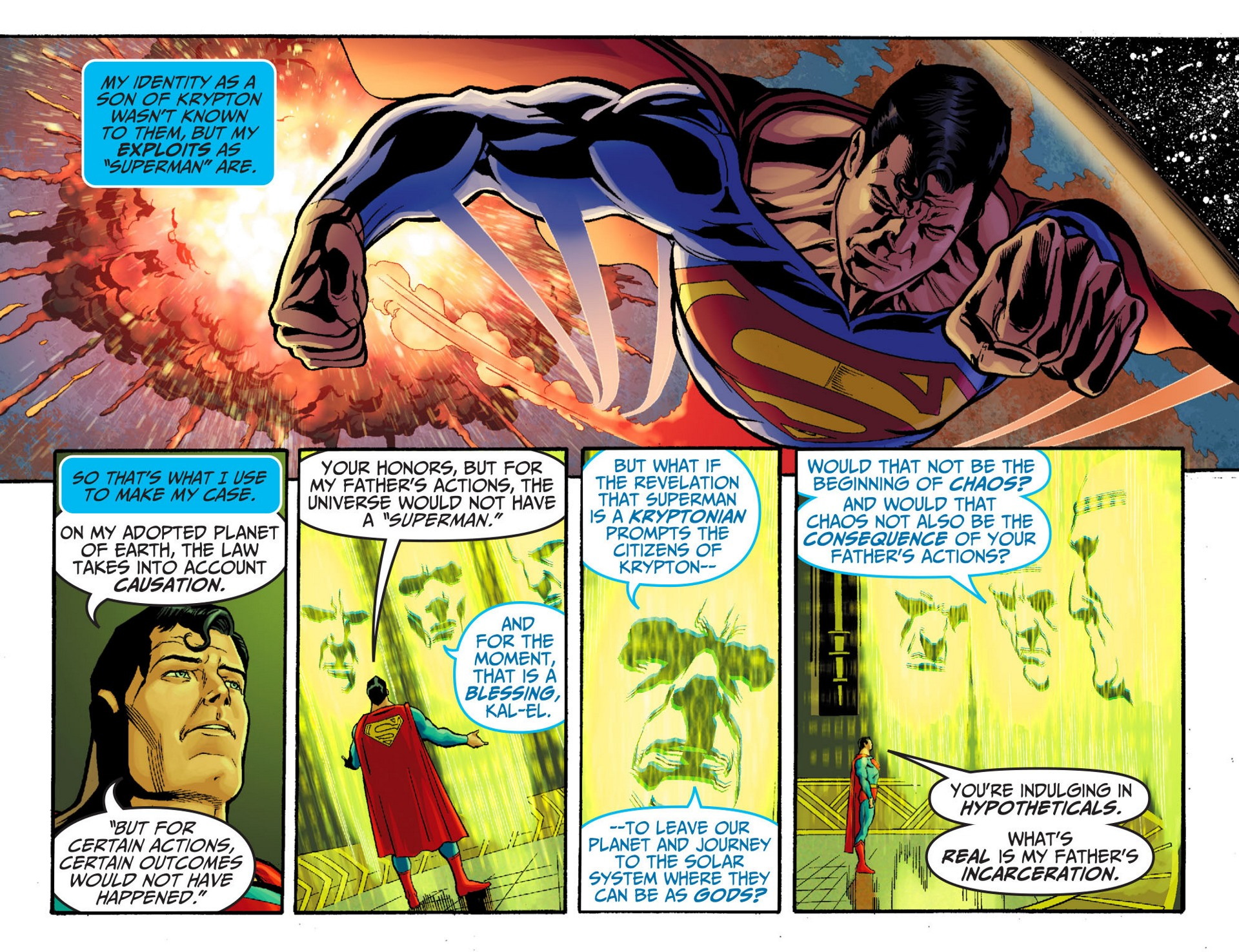 Read online Adventures of Superman [I] comic -  Issue #23 - 16