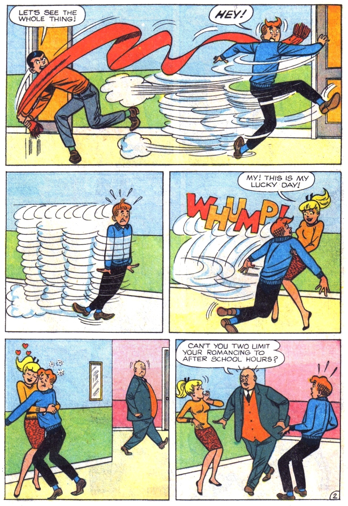 Read online Archie (1960) comic -  Issue #164 - 21