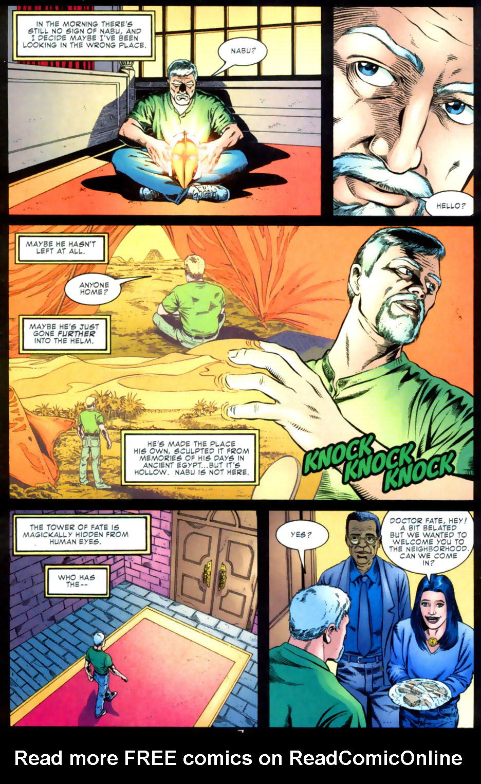 Read online Doctor Fate (2003) comic -  Issue #2 - 8