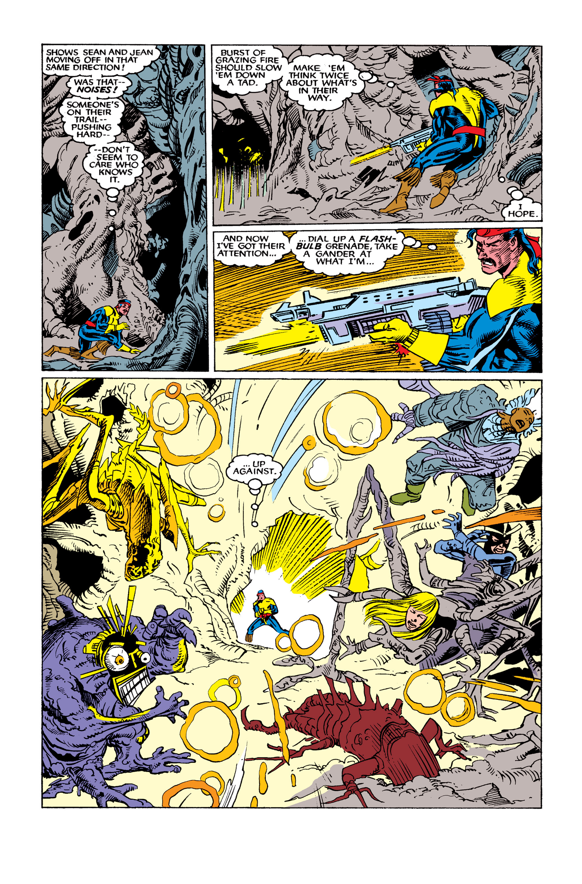 Read online Uncanny X-Men (1963) comic -  Issue #262 - 19