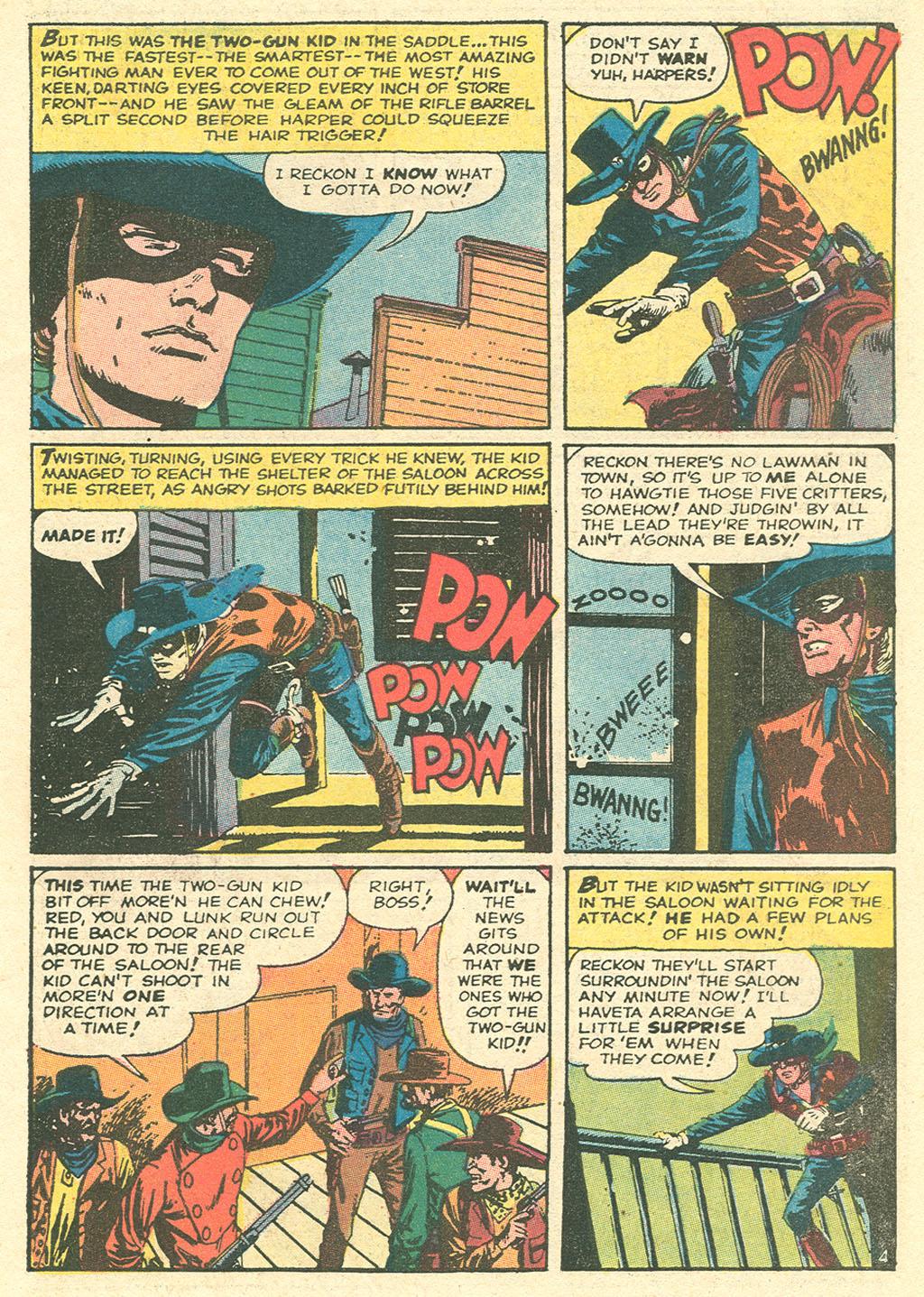 Read online Two-Gun Kid comic -  Issue #99 - 7