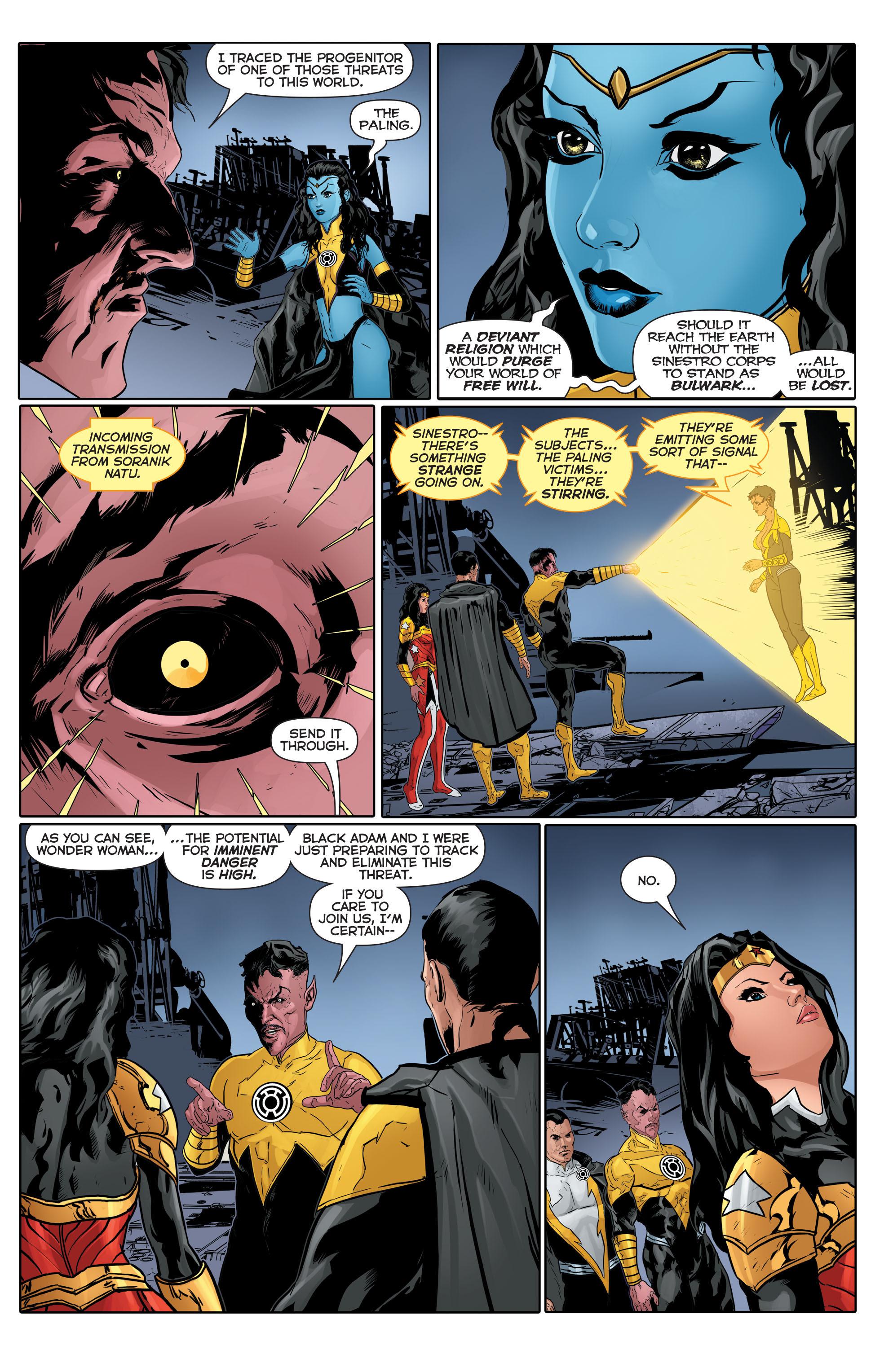 Read online Sinestro comic -  Issue #17 - 20