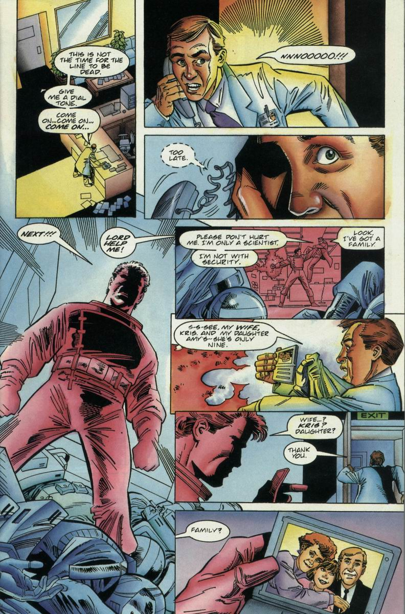 Read online Harbinger Files comic -  Issue #2 - 4