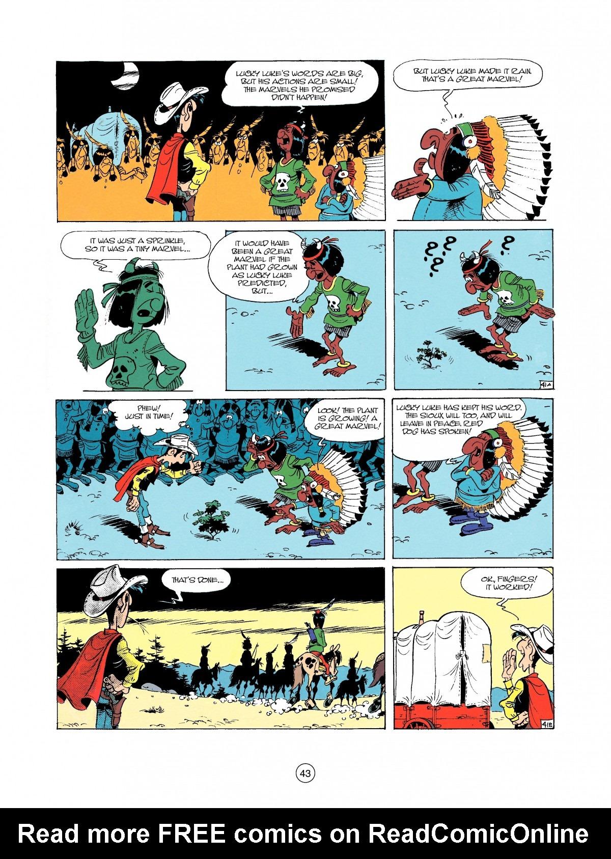 Read online A Lucky Luke Adventure comic -  Issue #37 - 43