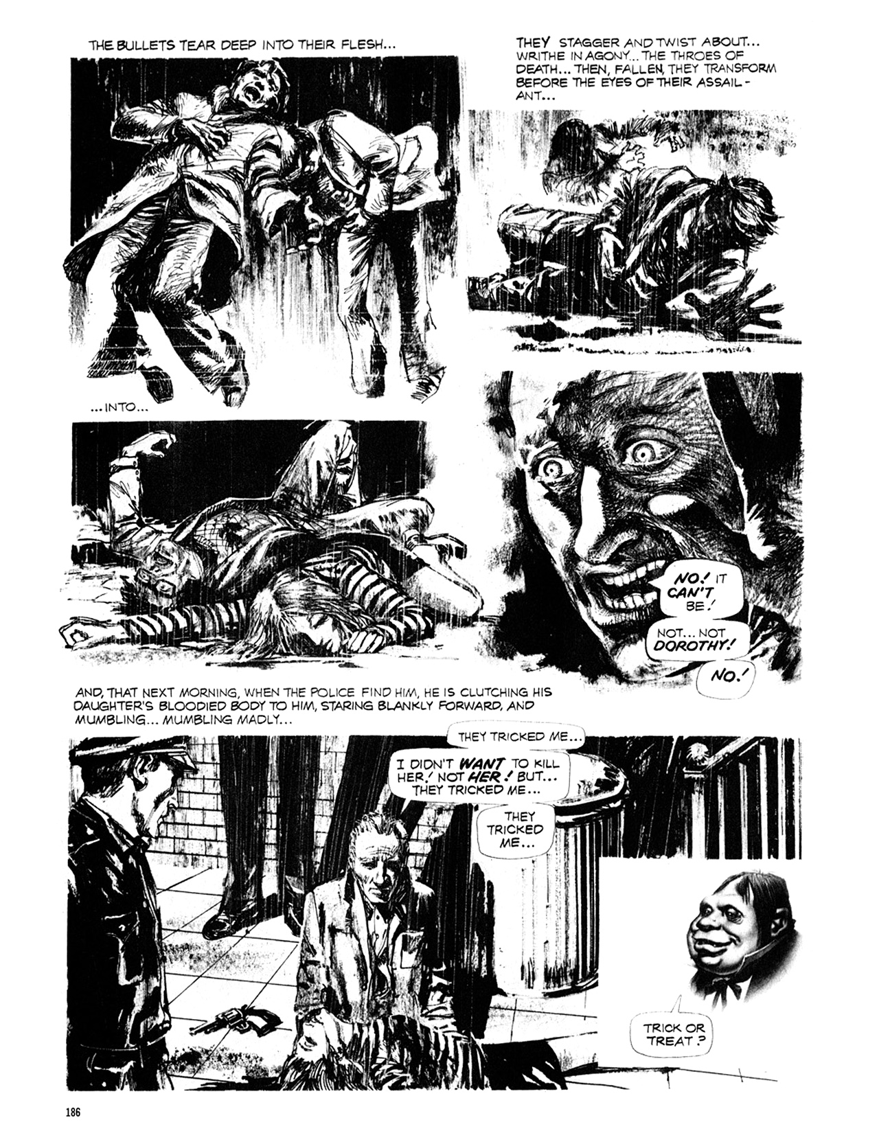 Read online Eerie Archives comic -  Issue # TPB 10 - 187