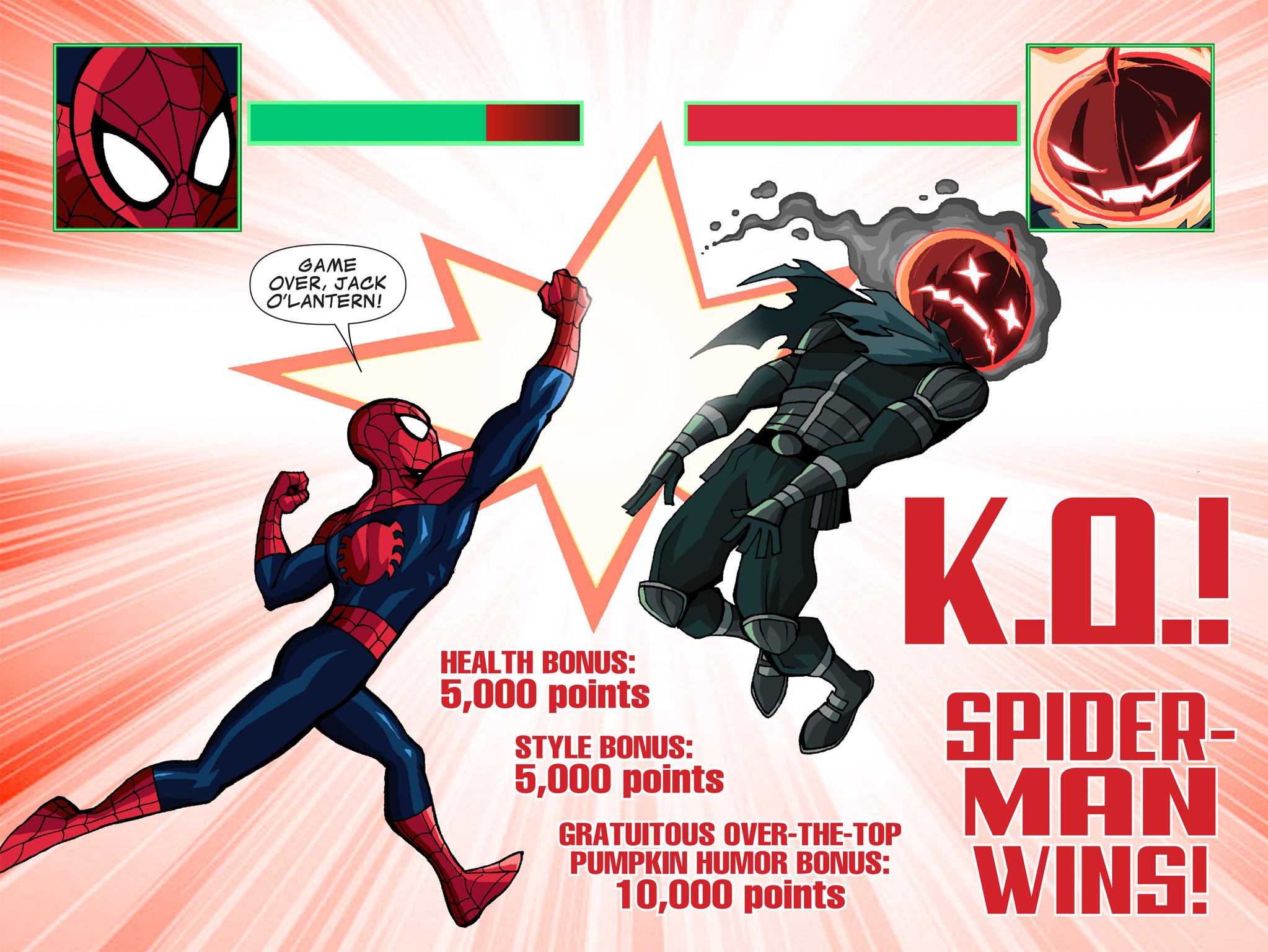 Read online Ultimate Spider-Man (Infinite Comics) (2015) comic -  Issue #1 - 16