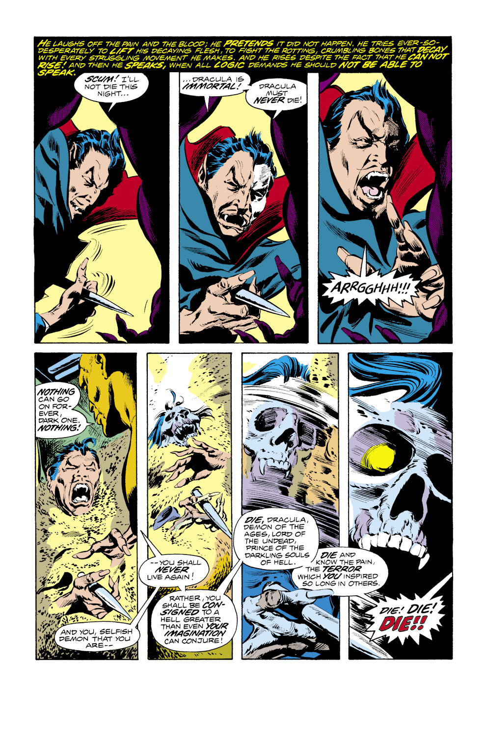 Tomb of Dracula (1972) issue 40 - Page 3