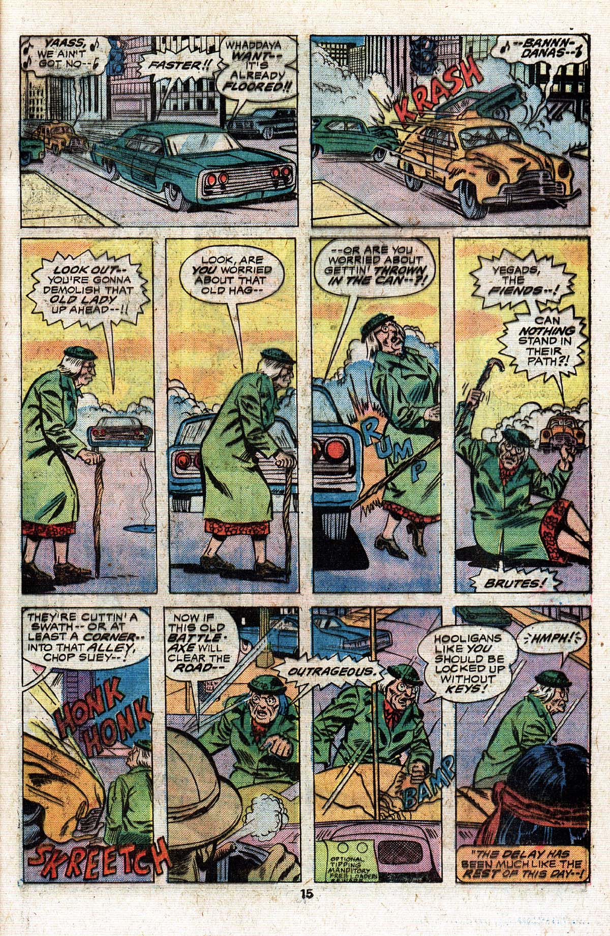 Read online Giant-Size Master of Kung Fu comic -  Issue #4 - 14
