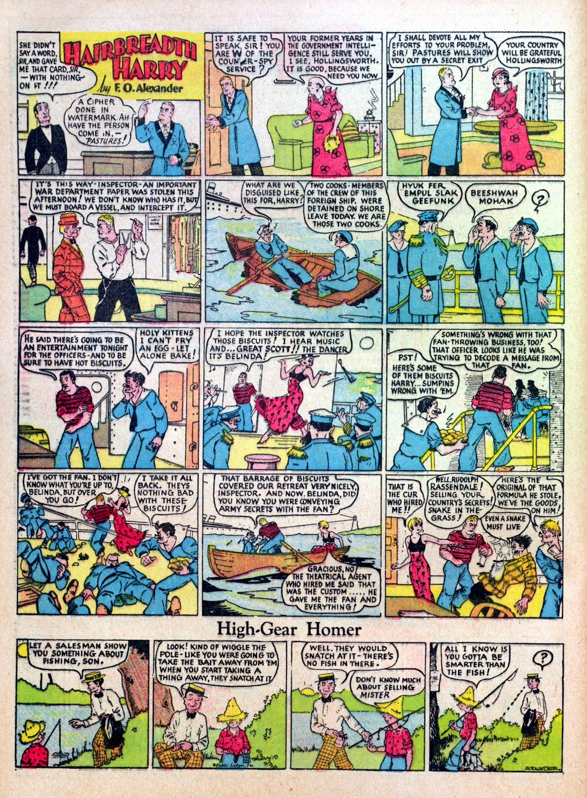 Read online Famous Funnies comic -  Issue #5 - 54