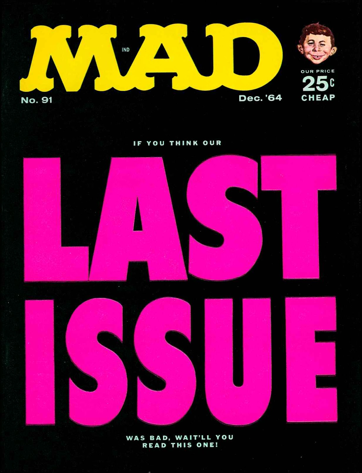 MAD issue 91 - Page 1