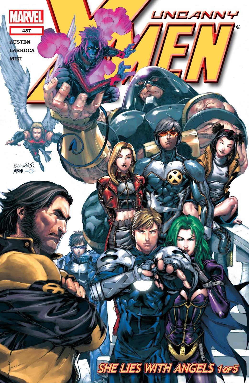 Uncanny X-Men (1963) 437 Page 1