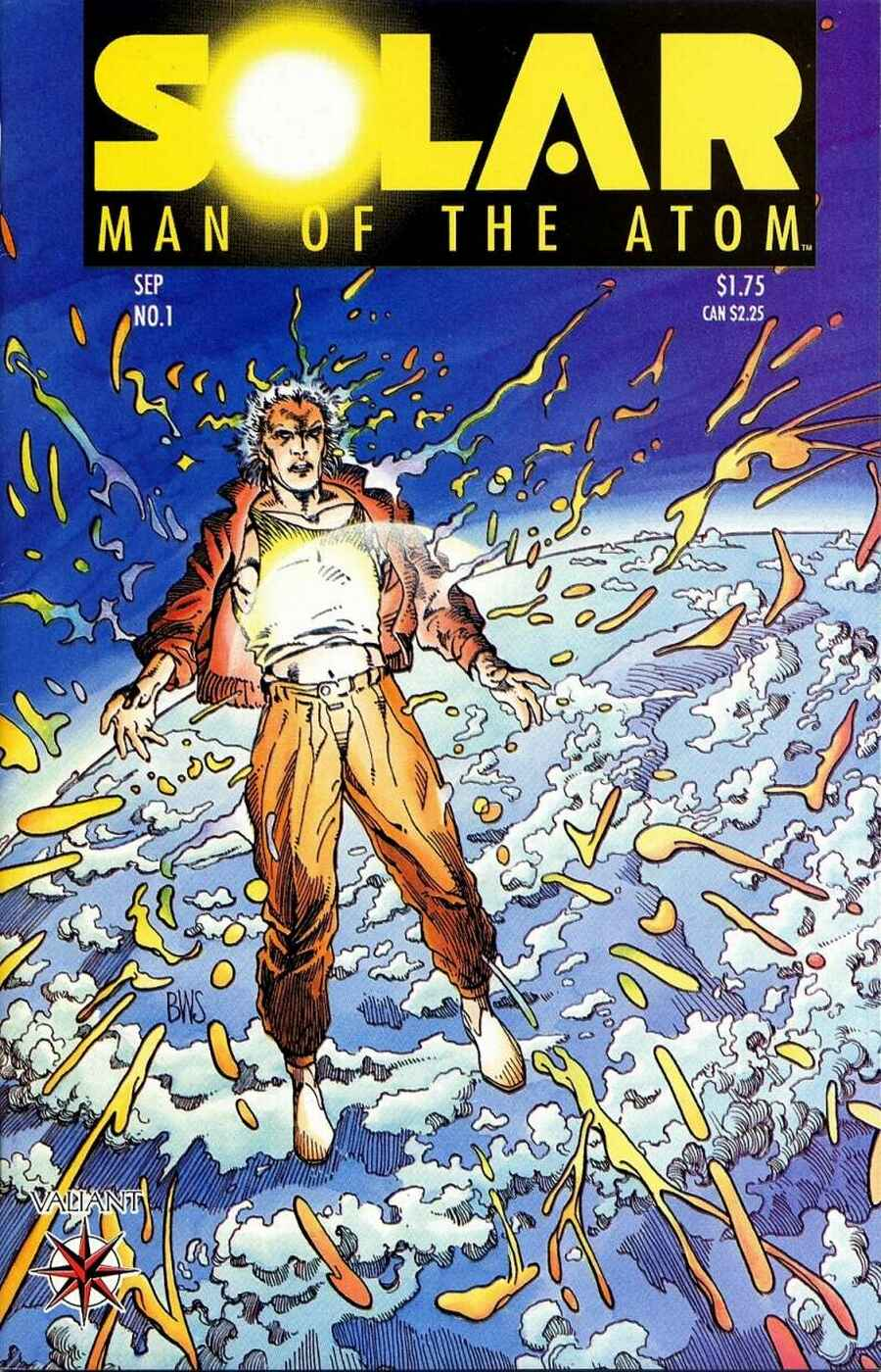Read online Solar, Man of the Atom comic -  Issue #1 - 1