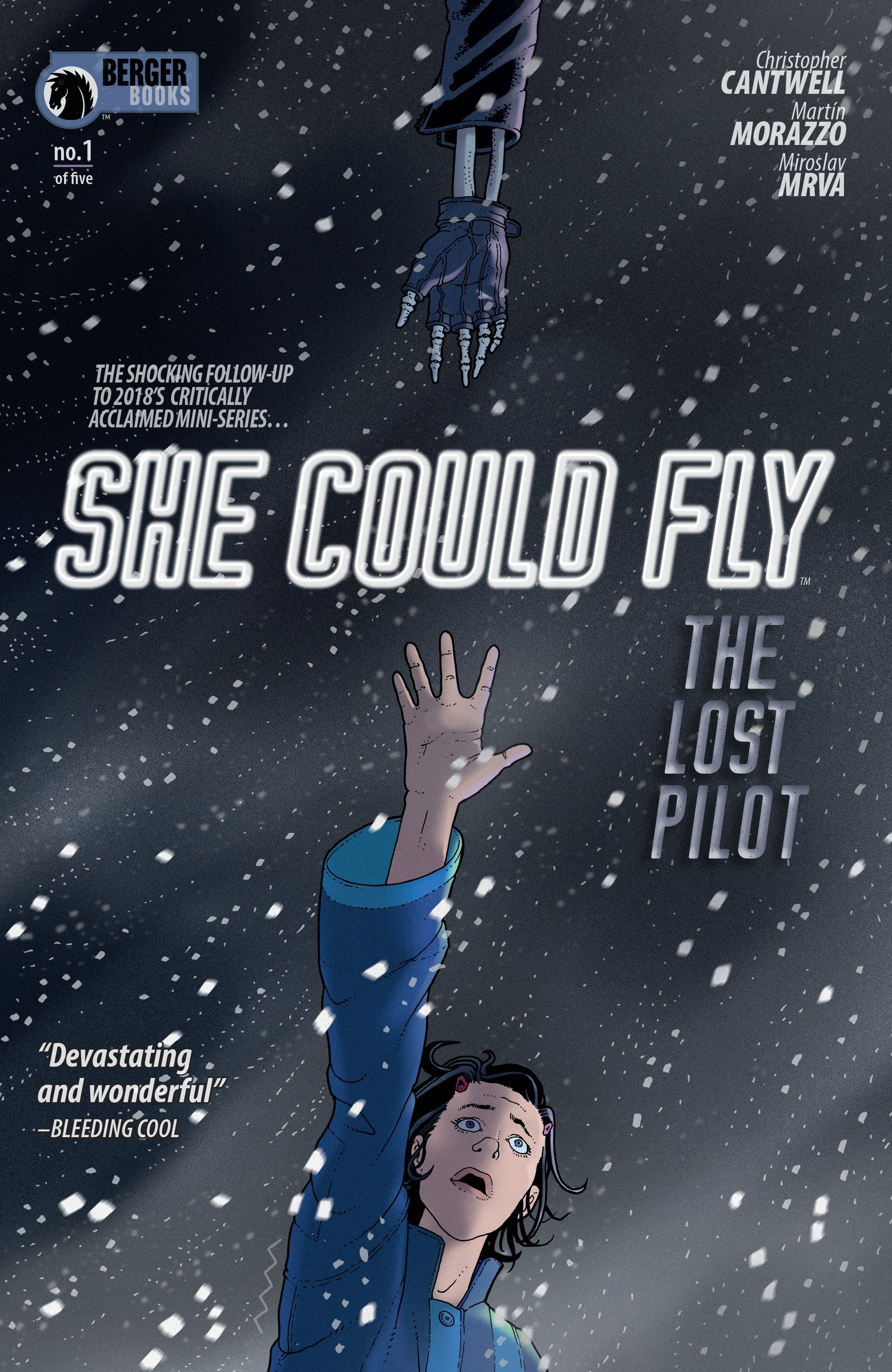 She Could Fly: The Lost Pilot 1 Page 1