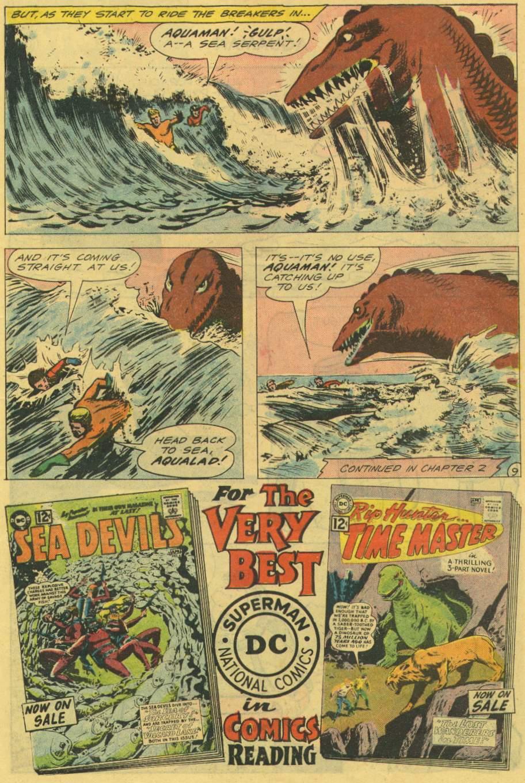 Read online Aquaman (1962) comic -  Issue #2 - 11