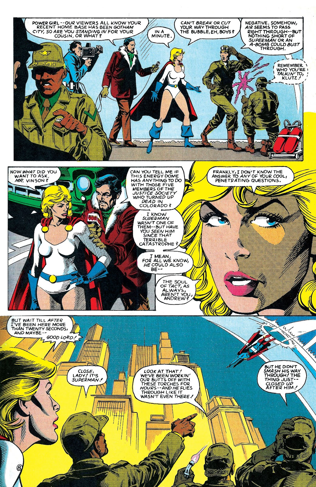 Infinity Inc. (1984) issue 6 - Page 9
