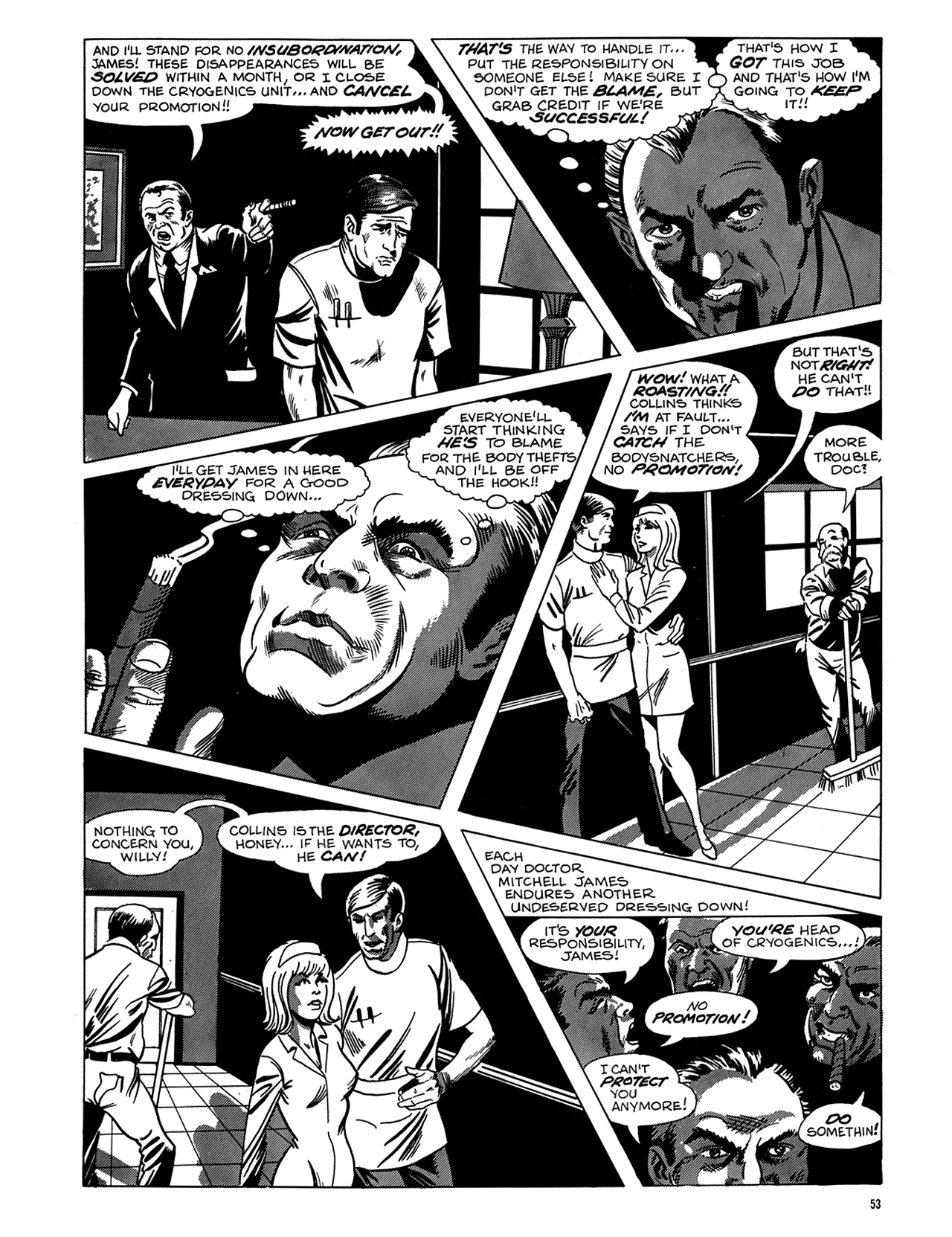 Read online Eerie Archives comic -  Issue # TPB 6 - 54